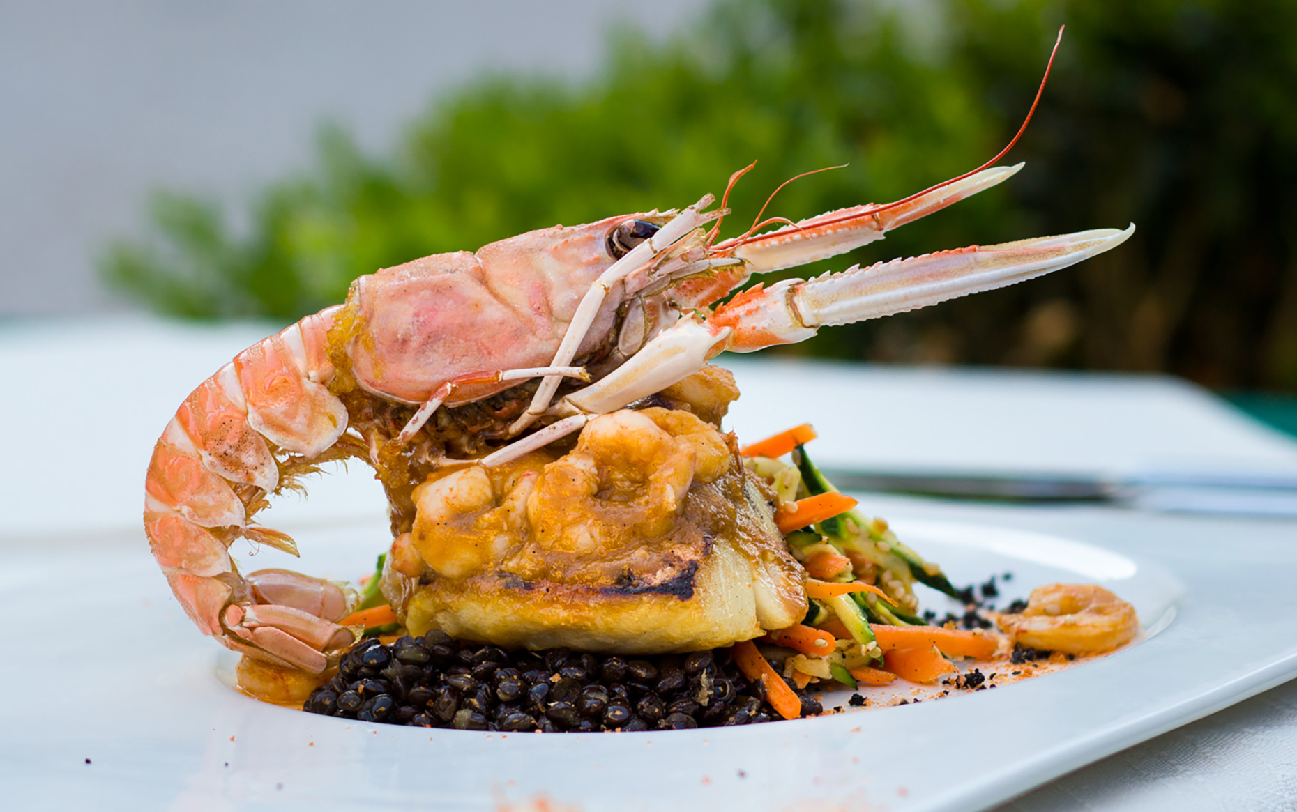 Prawn dish at Restaurant Kopun (Image: Restaurant Kopun/Facebook)