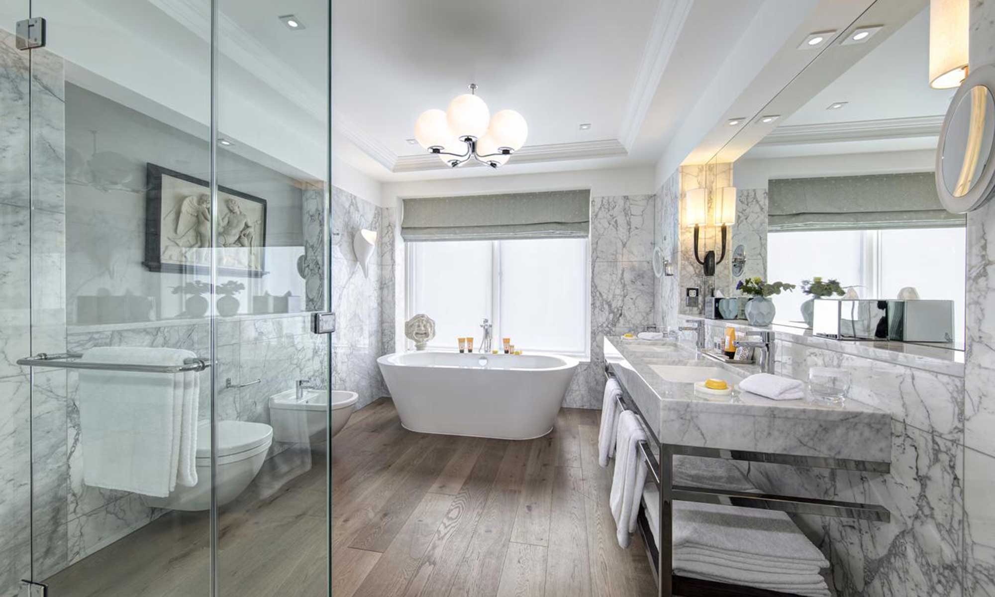 Bathroom at the Balmoral Hotel