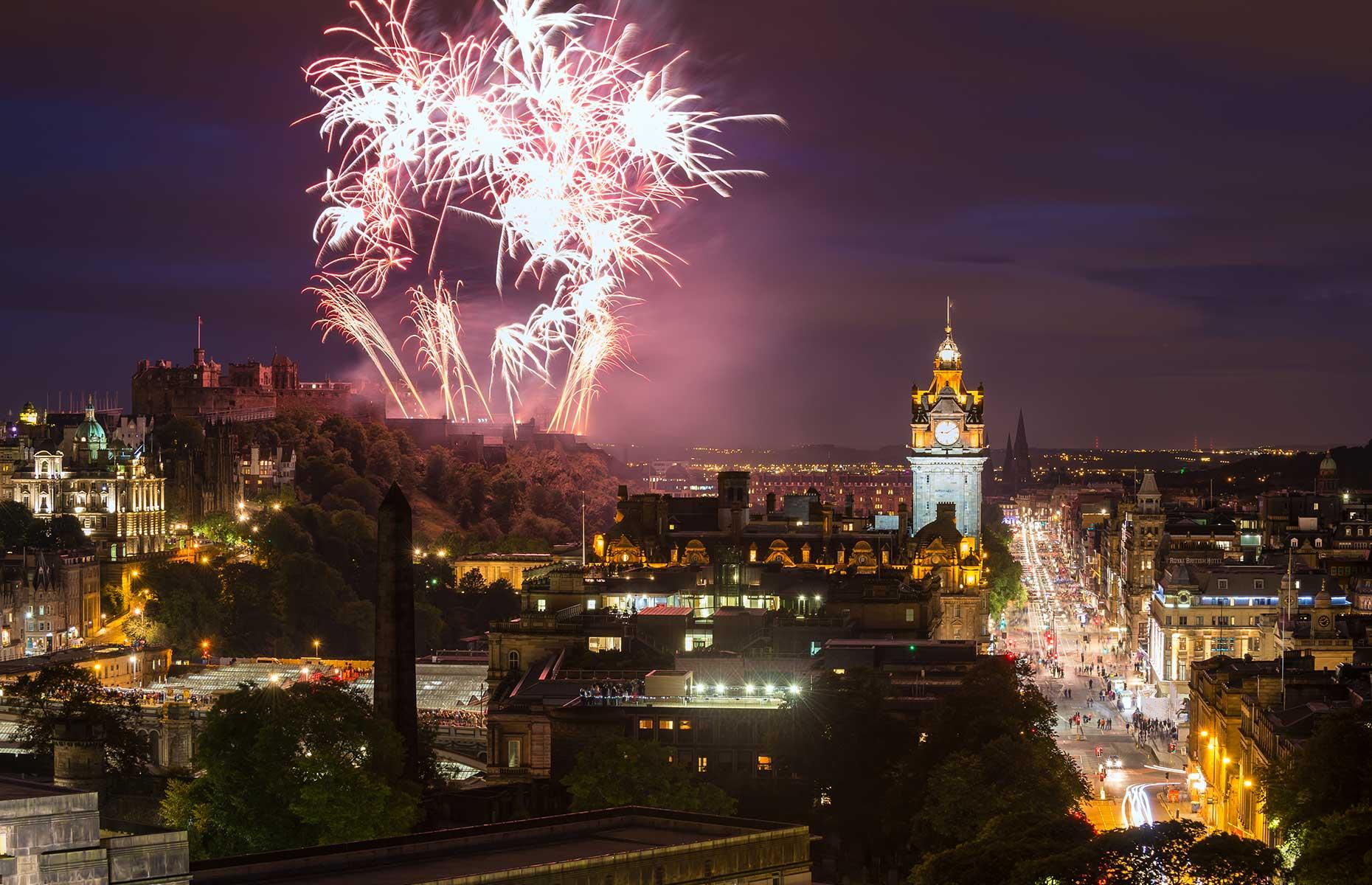 Hogmanay, Edinburgh