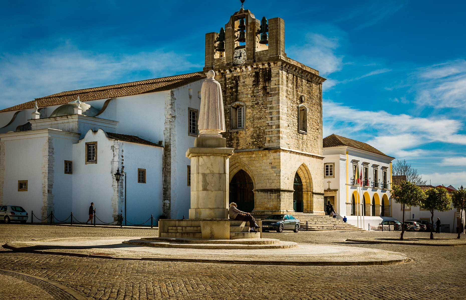Faro city centre (Image: Evgeni Fabisuk/Shutterstock)