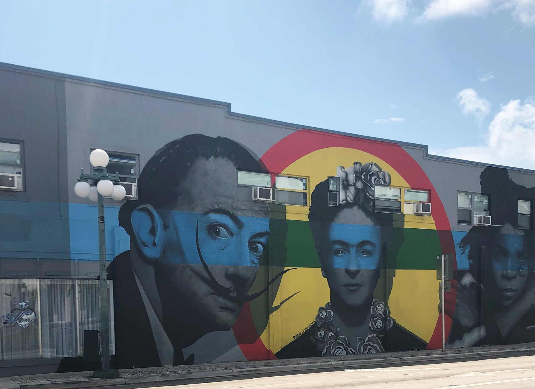 Mural project in Downtown Hollywood