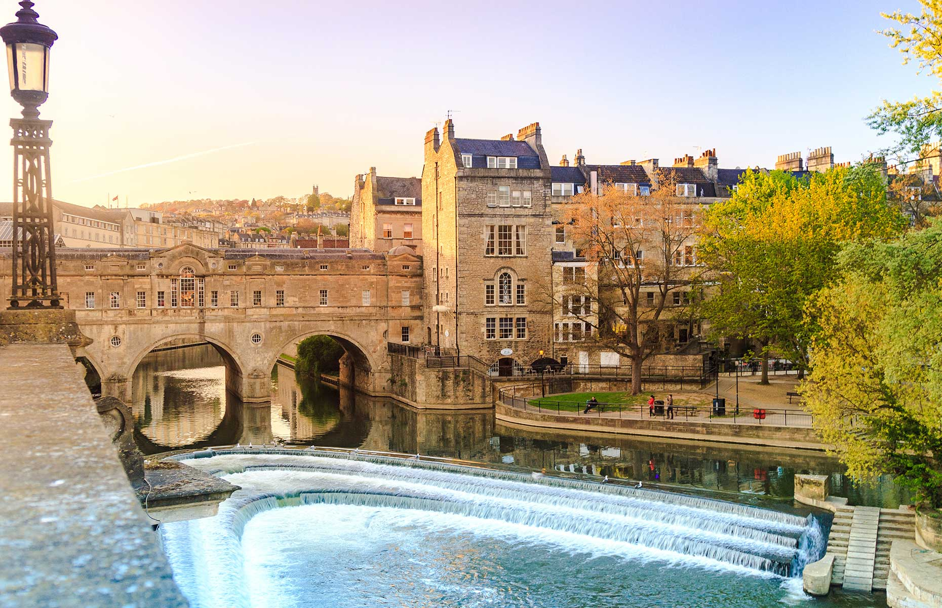 Pulteney Bridge in Bath is one of the city's top things to see.