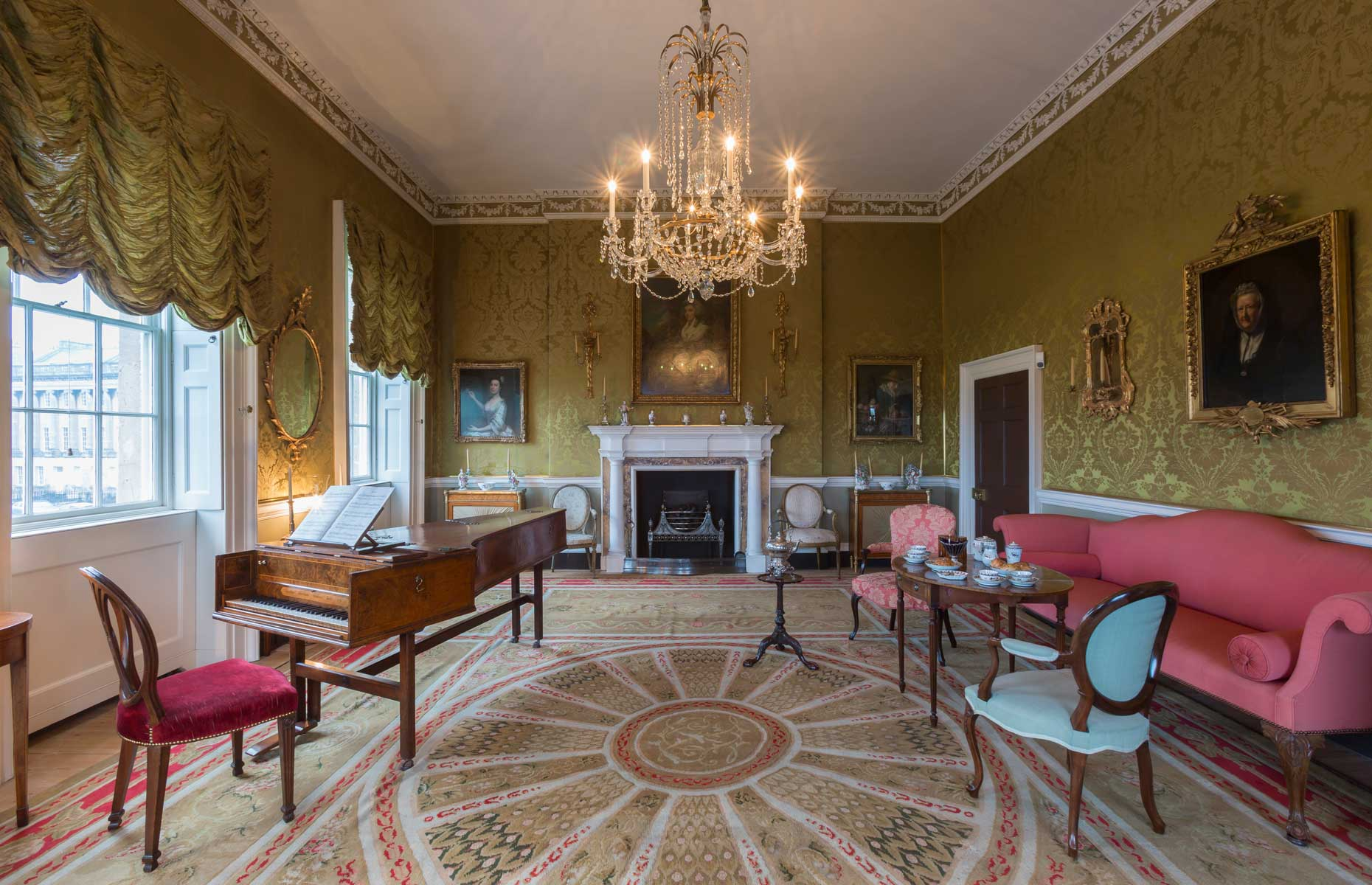 No.1 Royal Crescent is now a museum