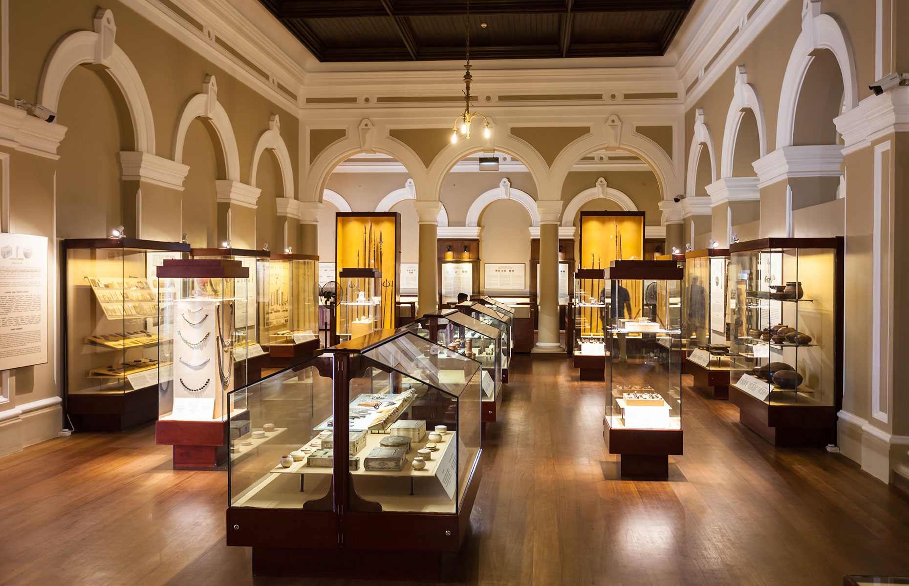 Internal exhibition at the National Museum Colombo