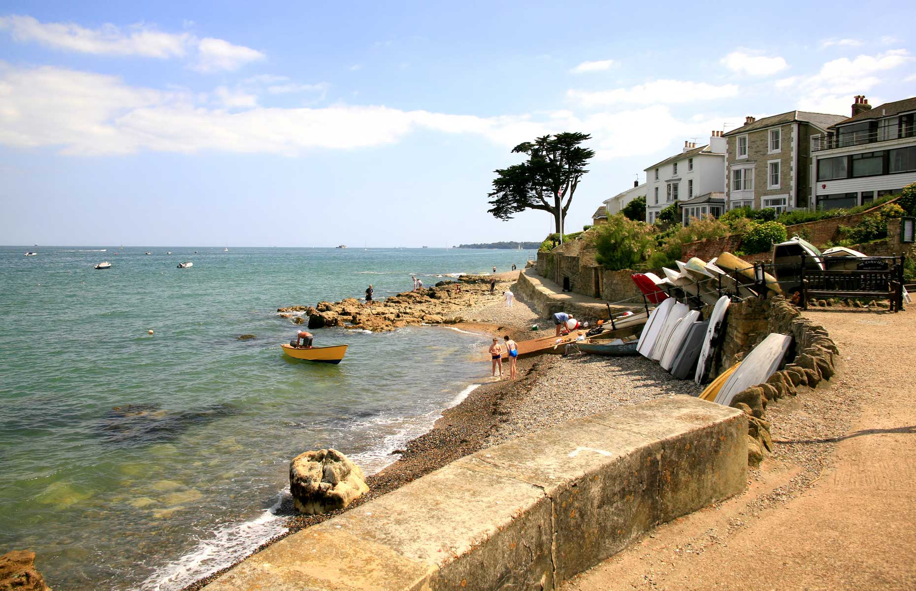 Seaview cove, Isle of Wight