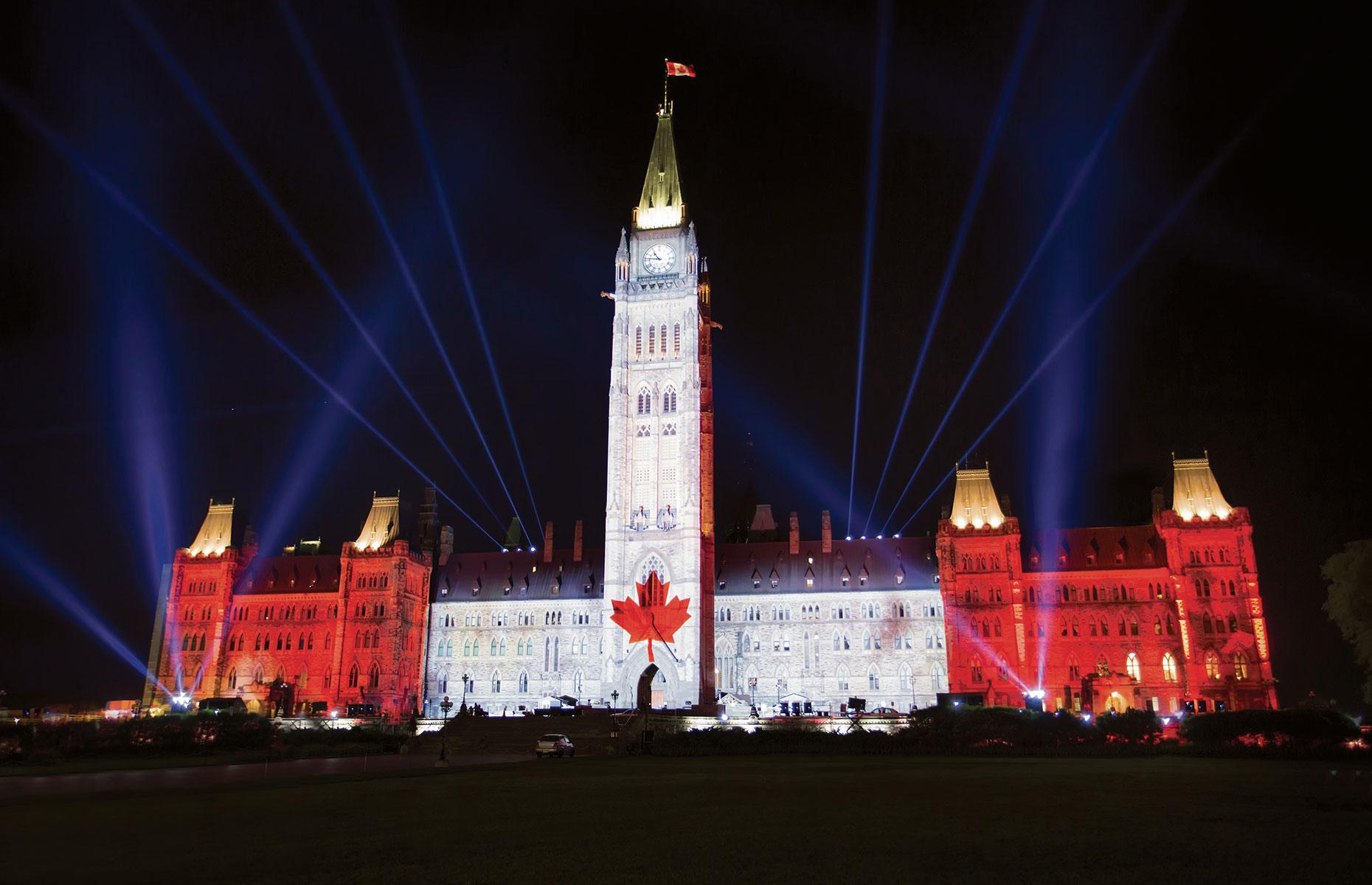 Parliament, Ottawa, Ontario (Image: Courtesy of Ottawa Tourism)