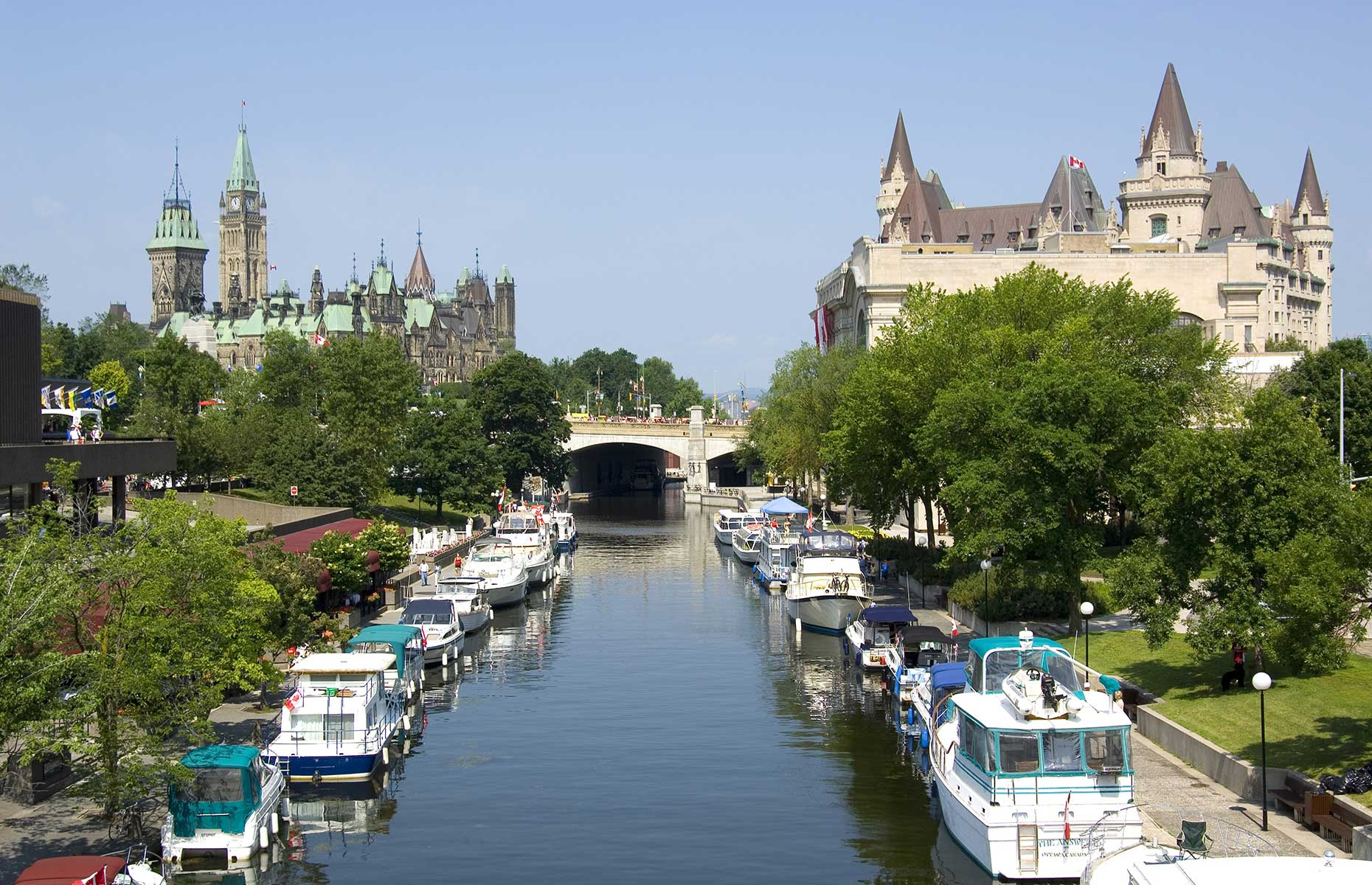 Rideau Canal (Image: Courtesy of Ottawa Tourism)