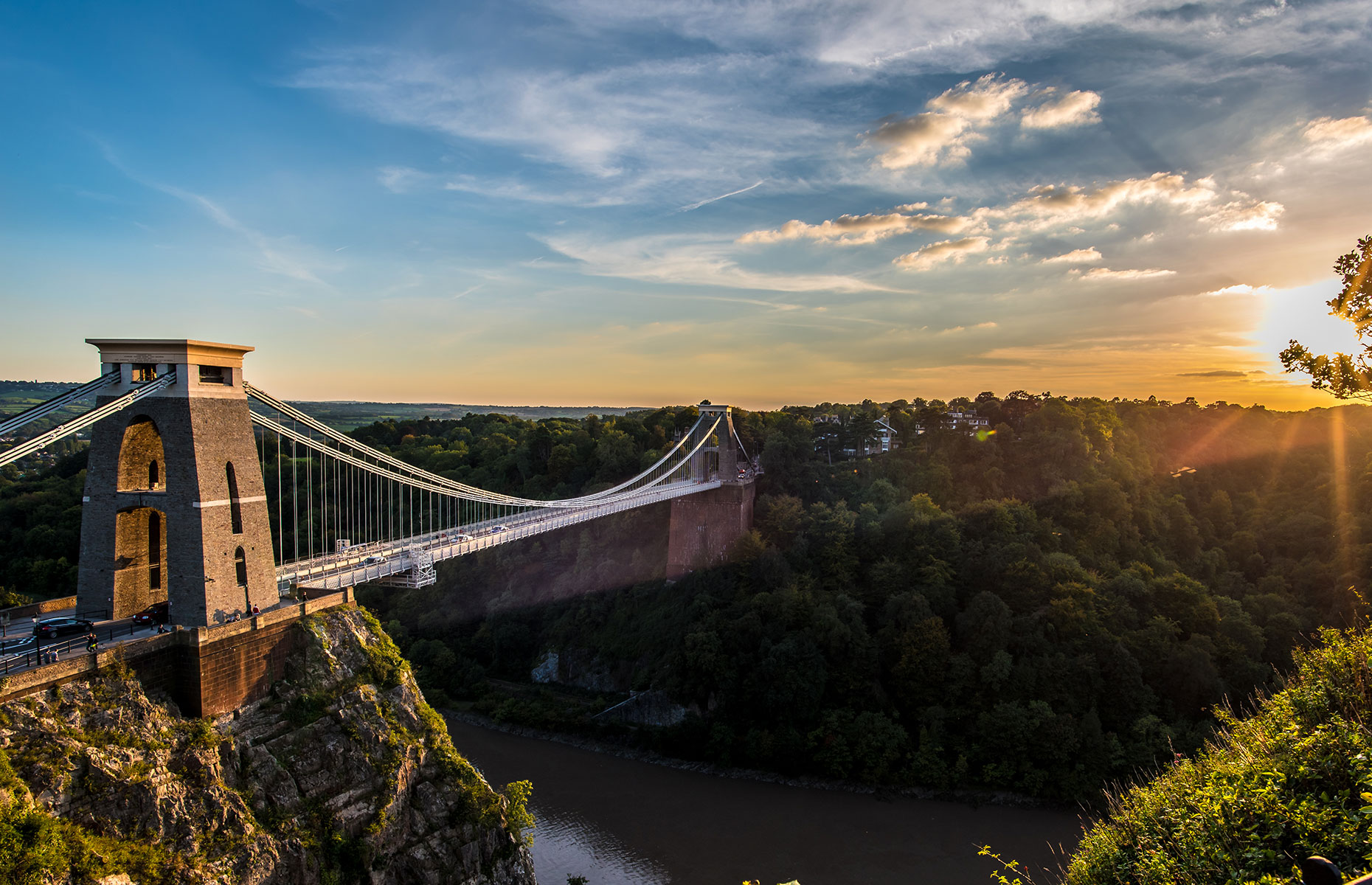 Bristol, end of the Great West Way
