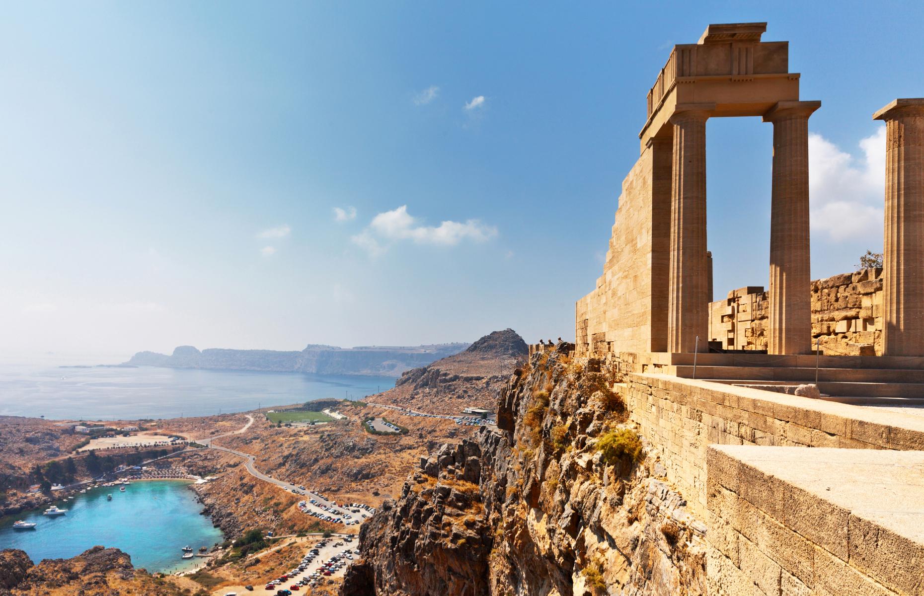 Acropolis in Lindos, Rhodes