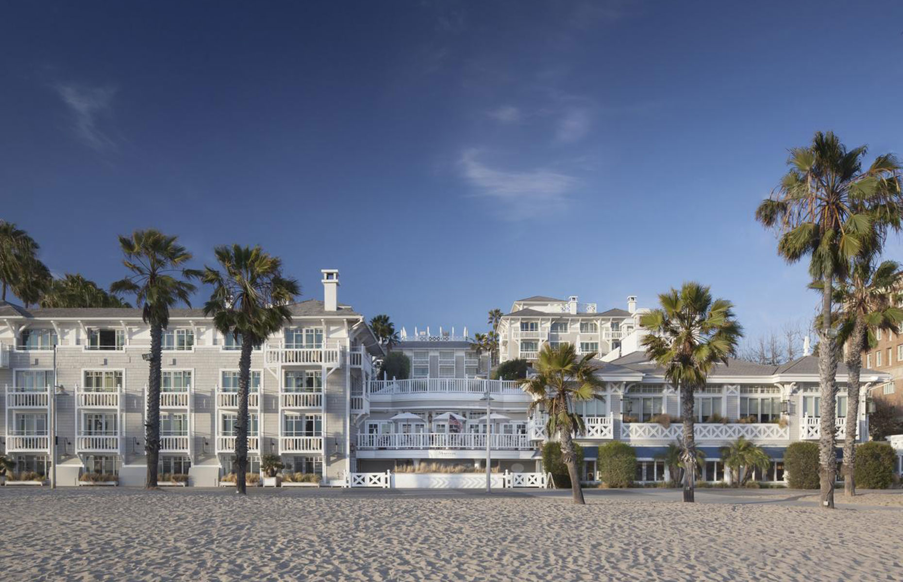 Shutters on the beach, hotel