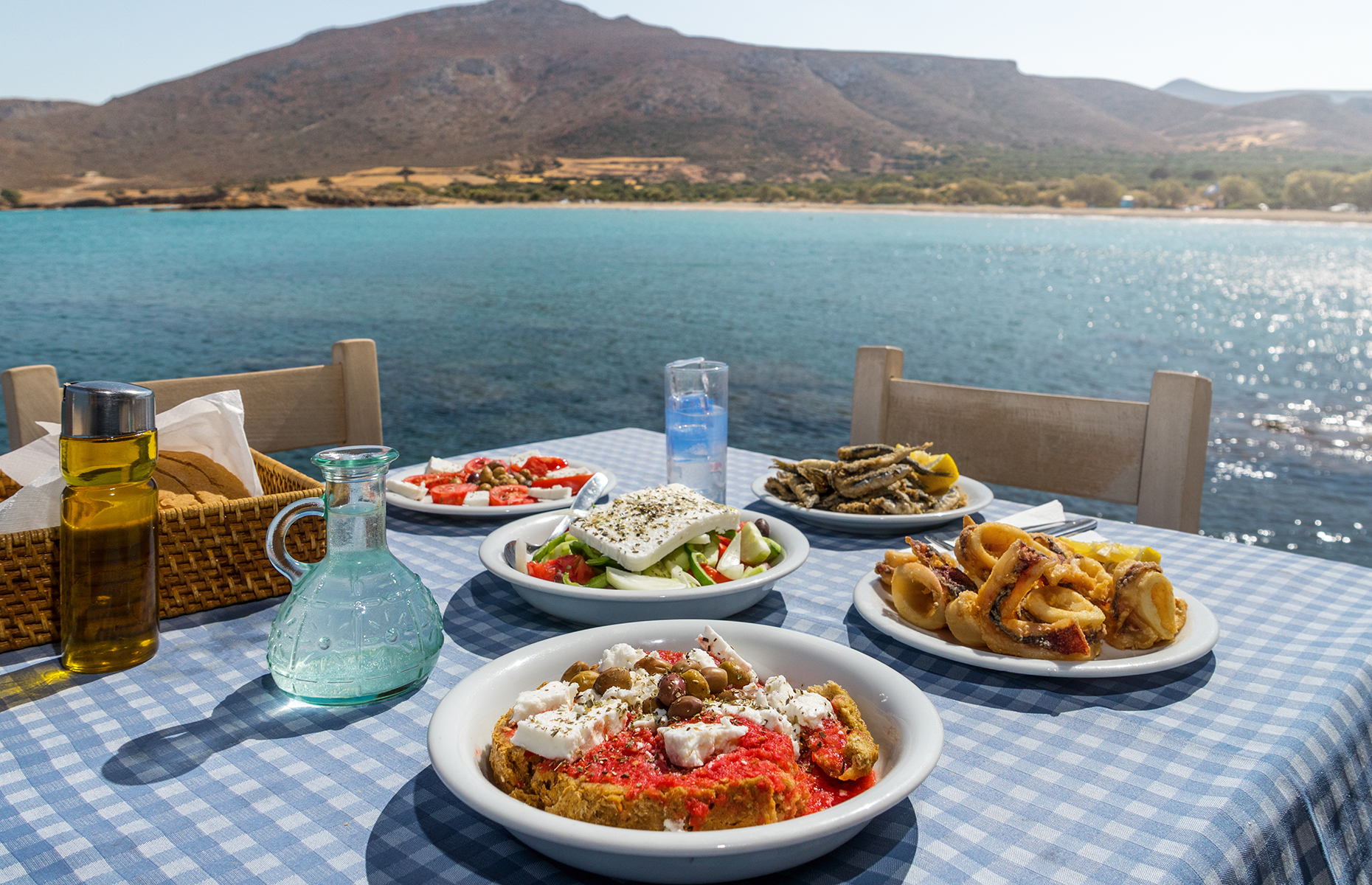 A selection of Greek food (Veniamakis Stefanos/Shutterstock)
