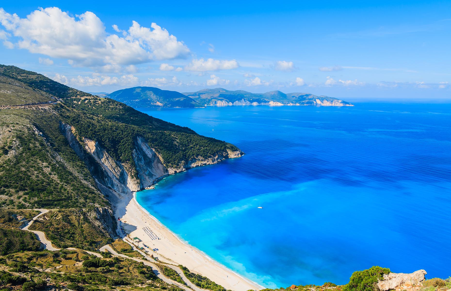 Myrtos Beach (Image: Pawel Kazmierczak/Shutterstock)