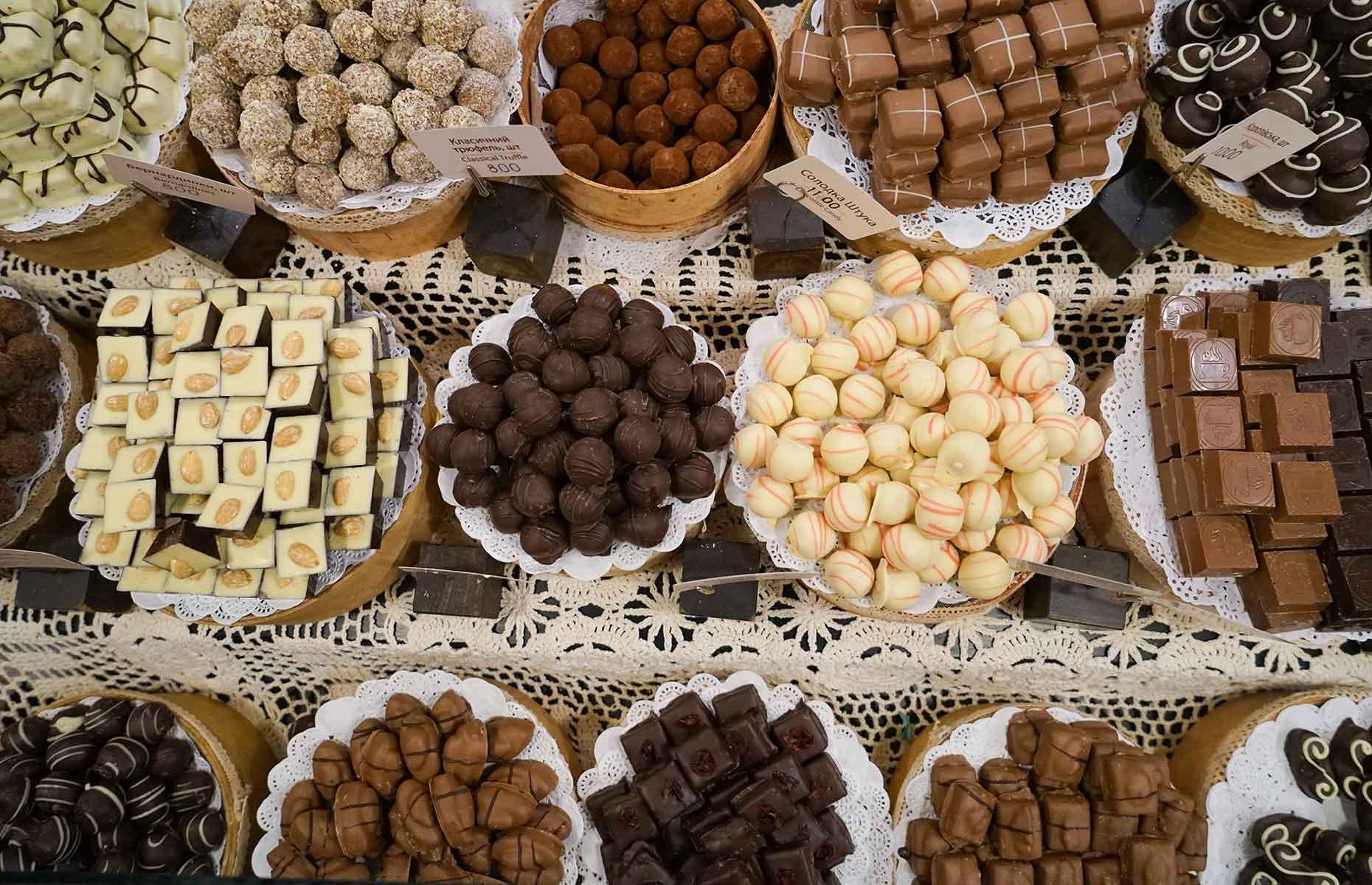 Liviv Handmade Chocole