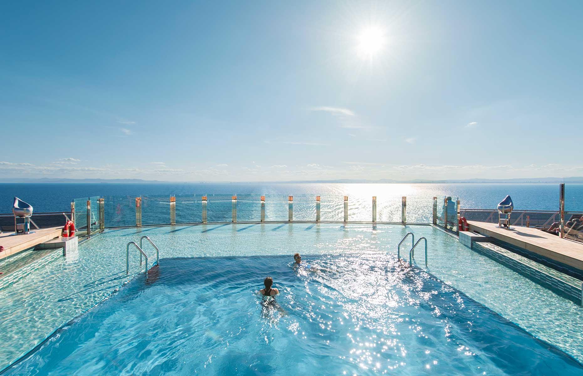 Pool on MSC Preziosa (Image: Courtesy of MSC)