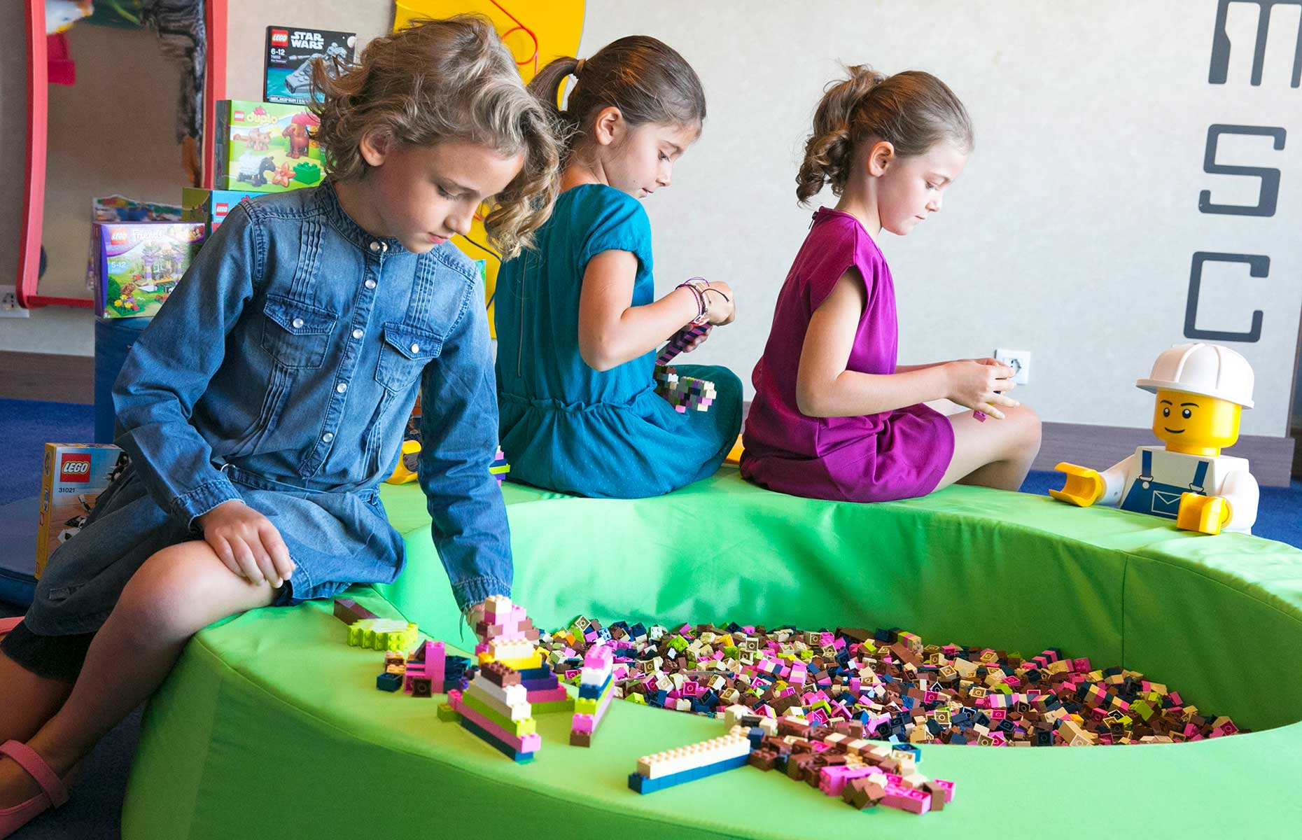 Kids' clubs on MSC Cruises aren't just about painting (Image: Courtesy of MSC)