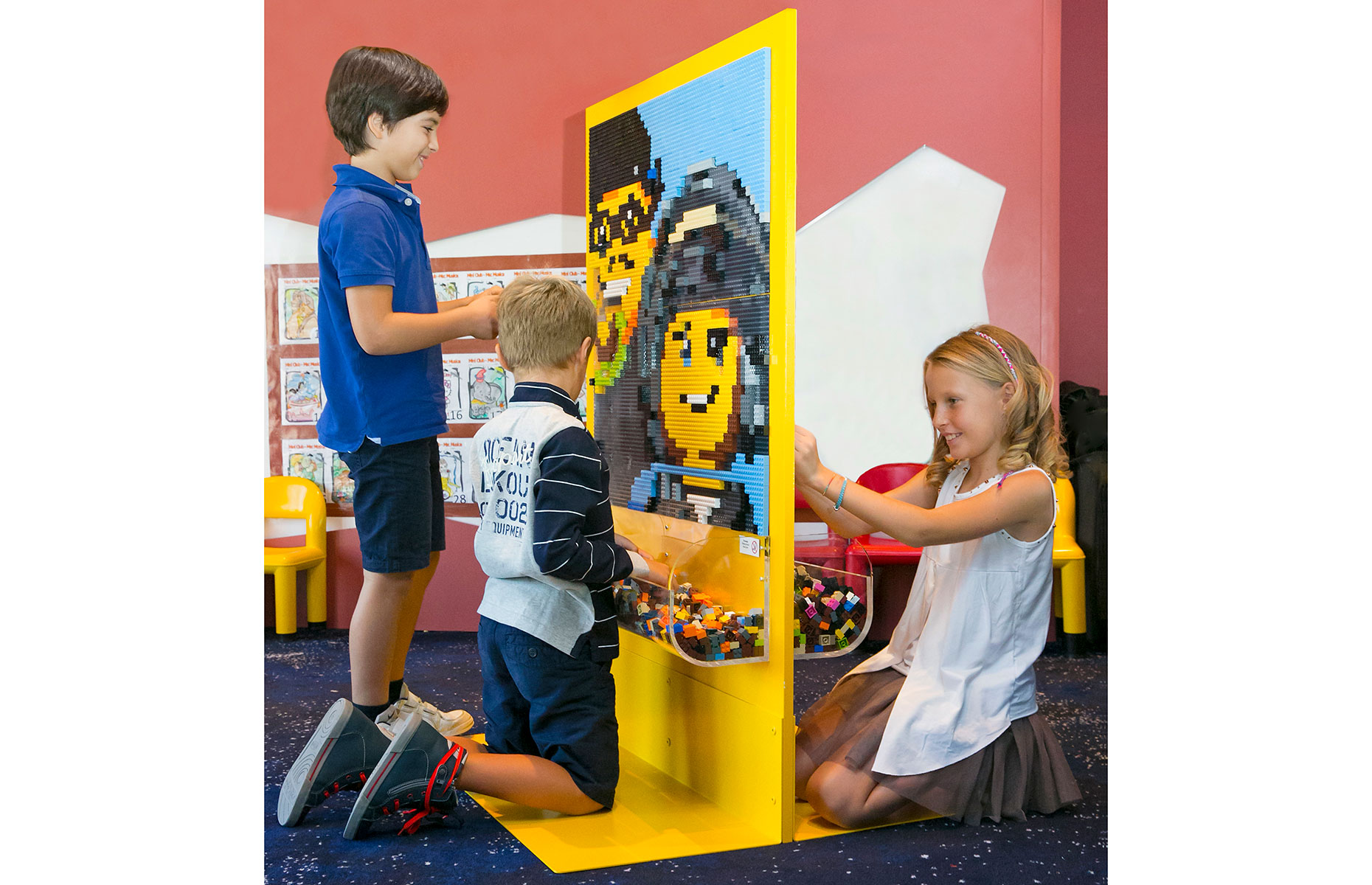 LEGO experience at the kids' club with MSC Cruises (Image: Courtesy of MSC)