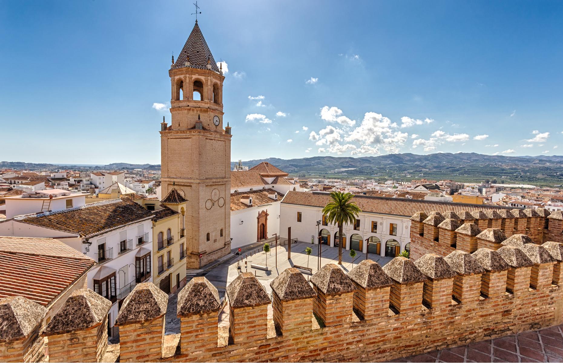 San Juan church in Malaga