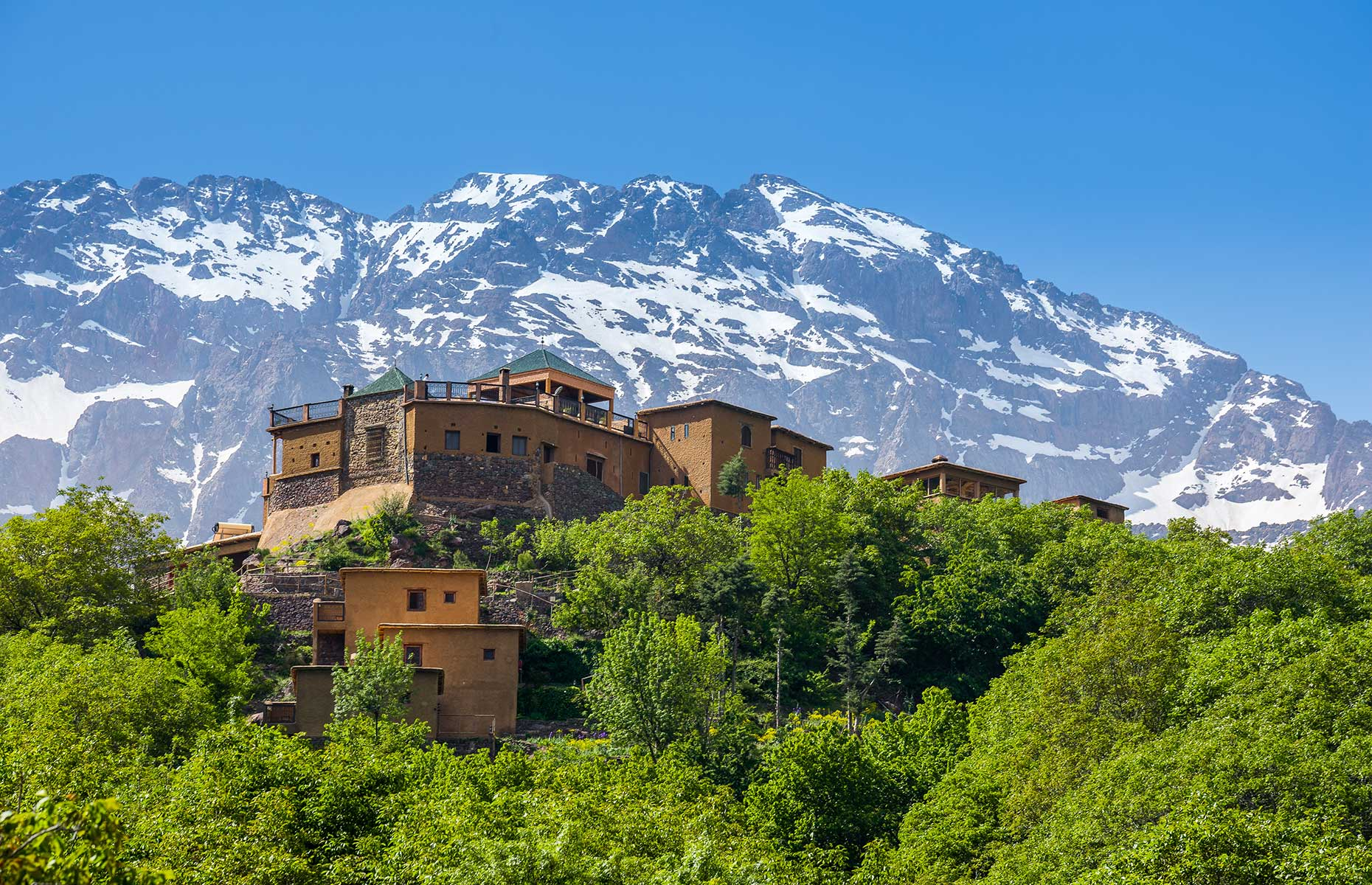 The Atlas Mountains are a must-see day trip from Marrakech
