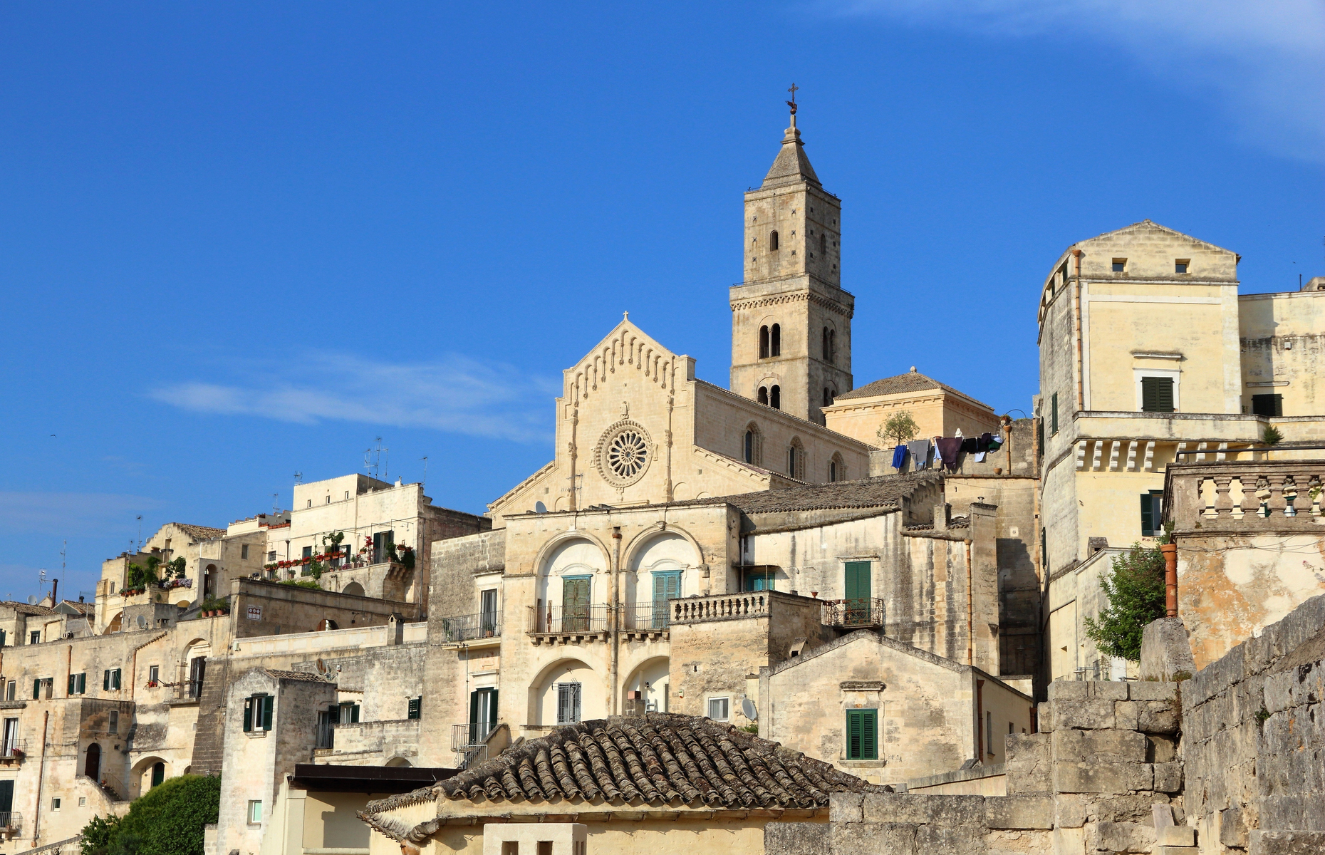 UNESCO listed centre of Matera