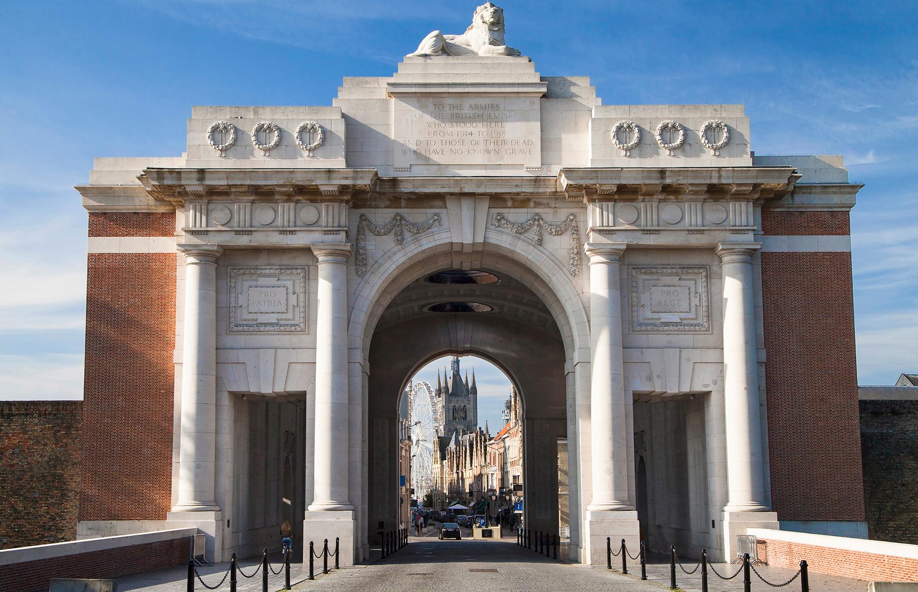 Menin Gate, Ypres, Flanders