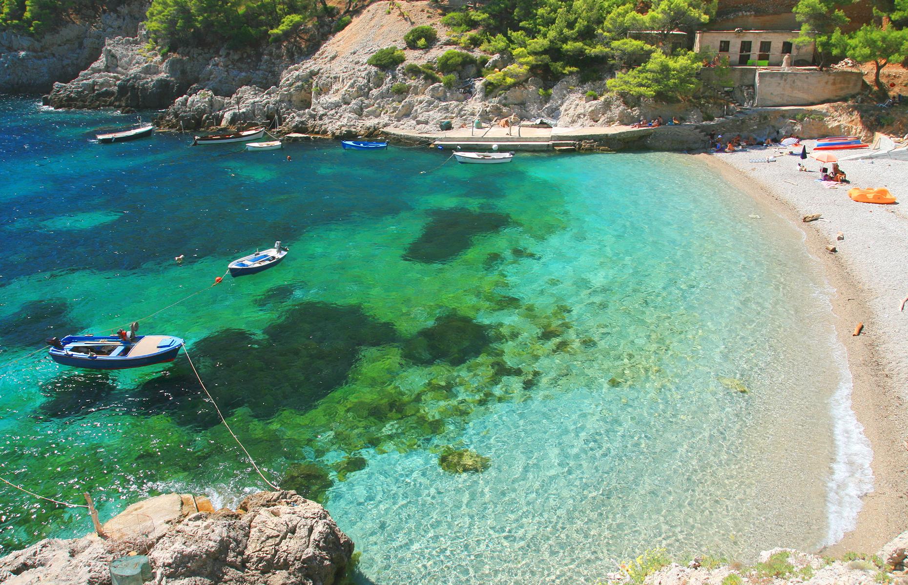 Saplunara beach
