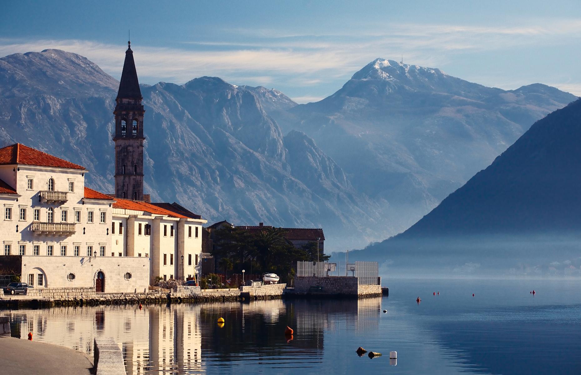 Perast Bay of Kotor