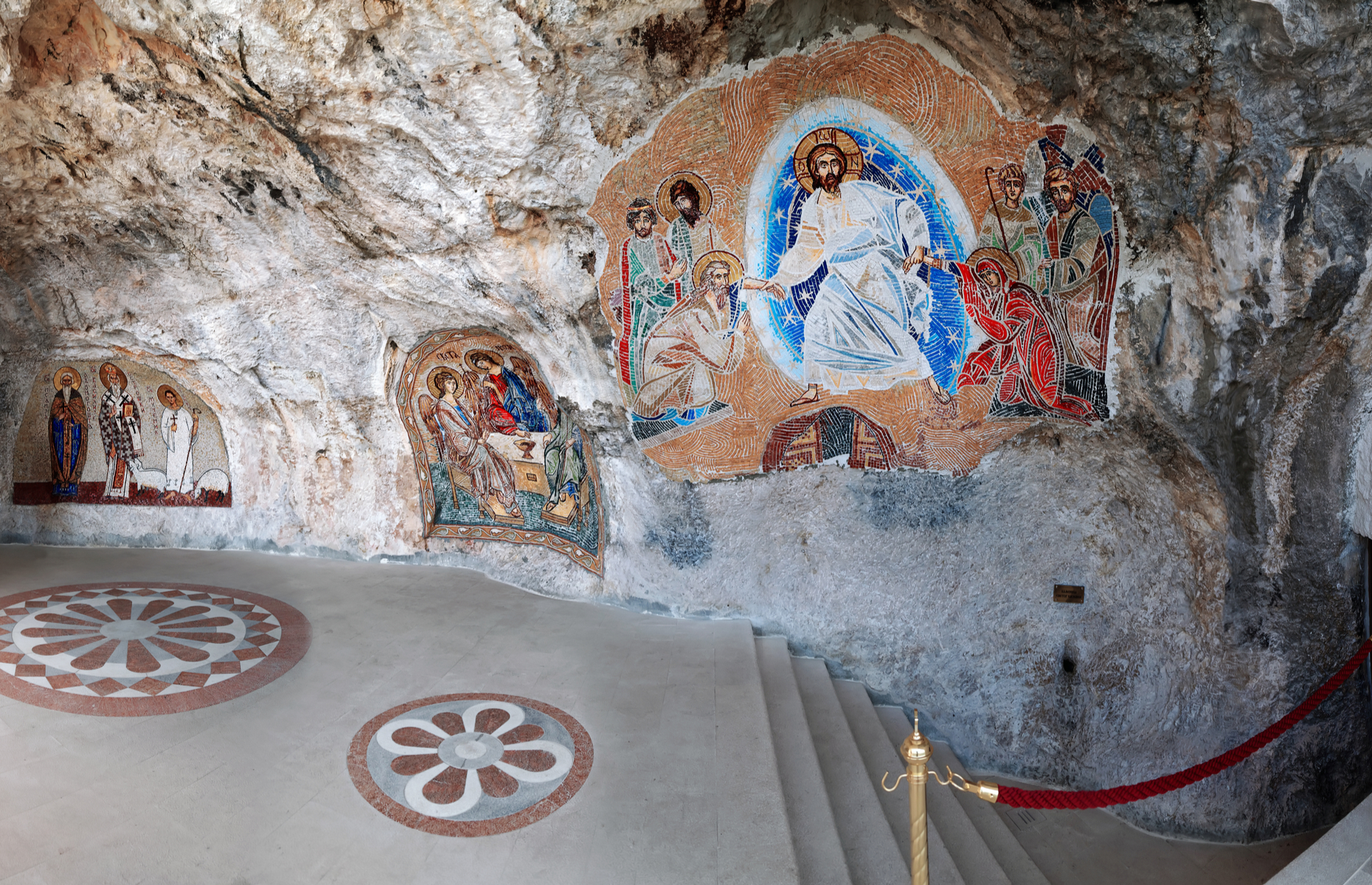 Frescoes at Ostrog Monastery