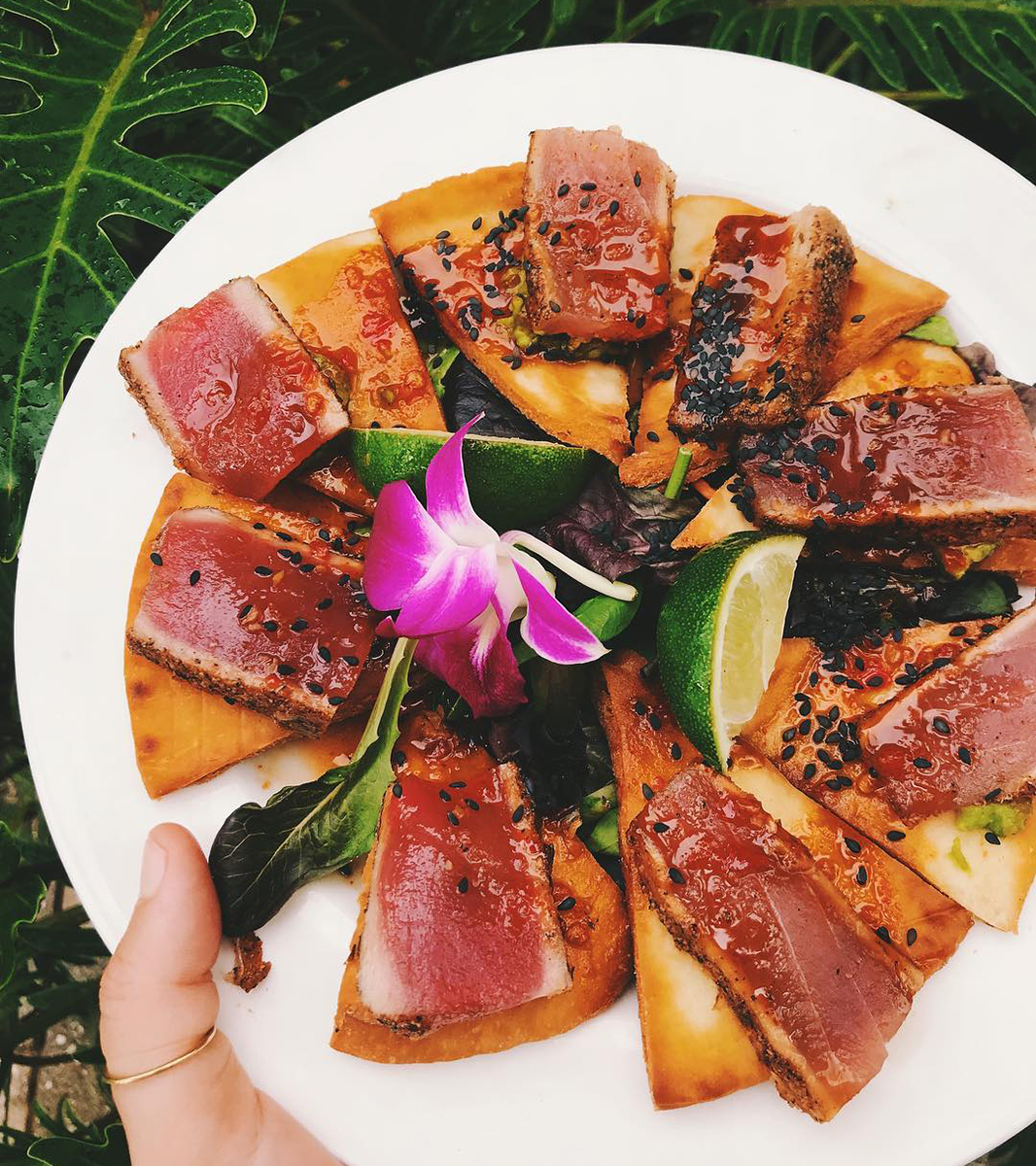 Tuna from Outriggers