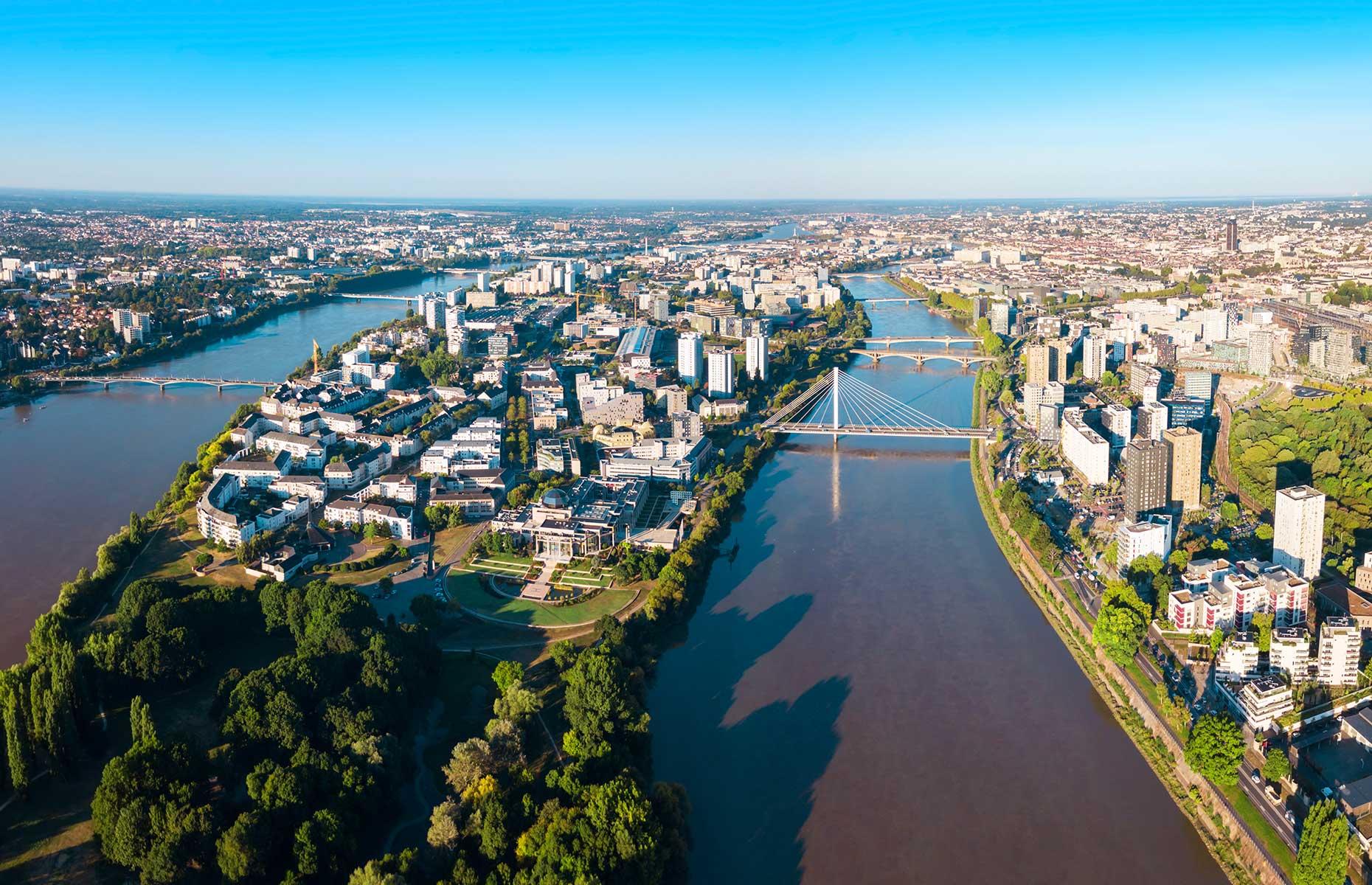 Ils Des Nantes, on the river Loire (Image: saiko3p/Shutterstock)