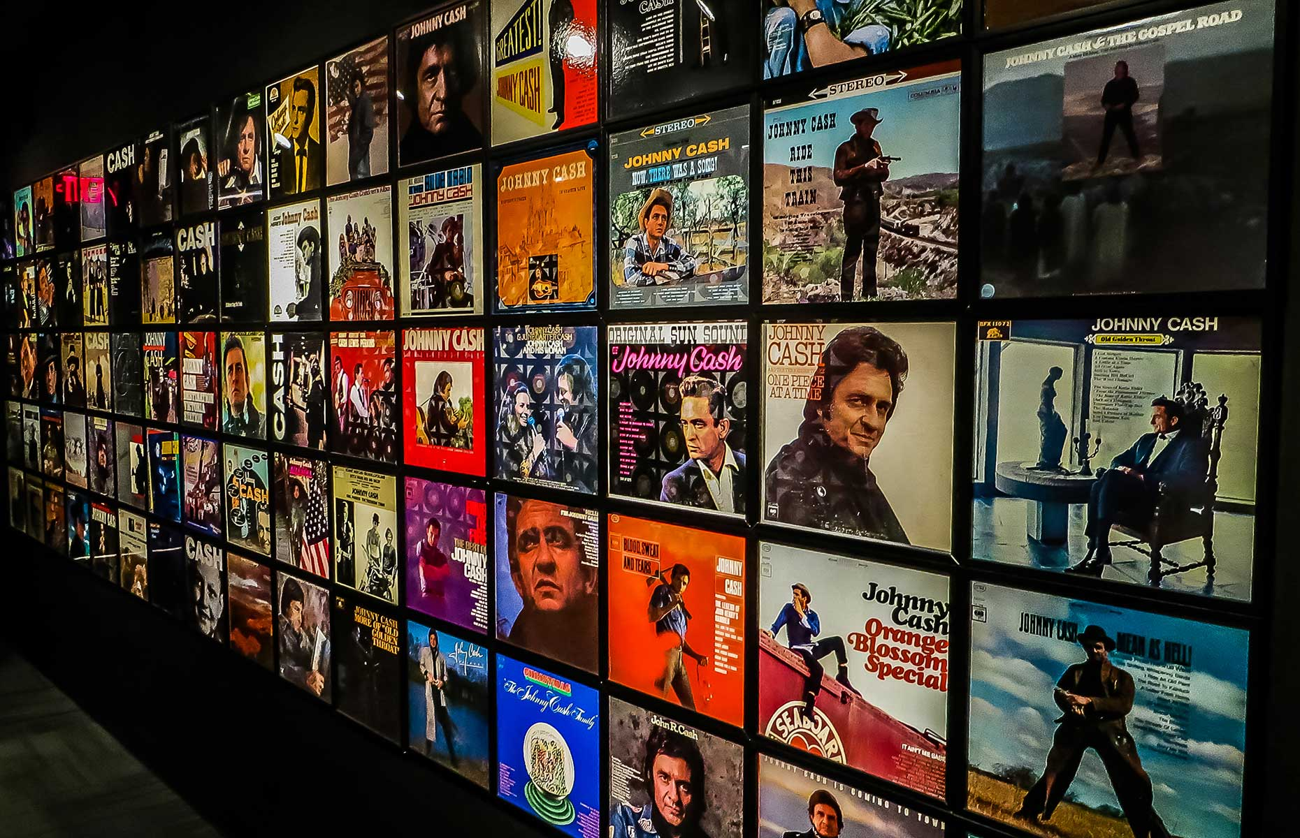 Johnny Cash Museum interior, Nashville