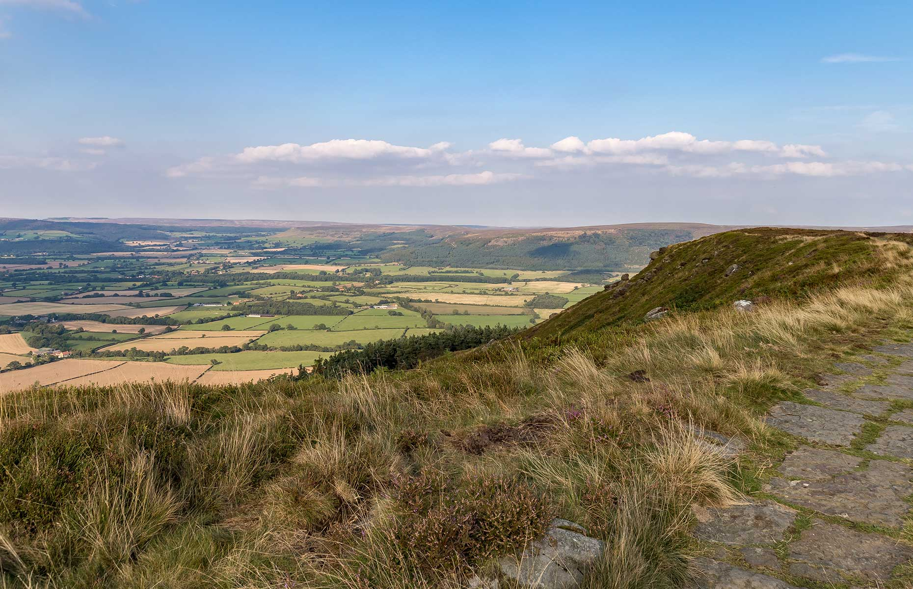 Cleveland Way-, North York Moors