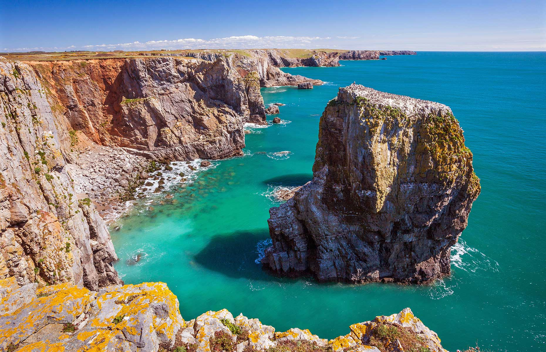 Pembrokeshire coastline national park