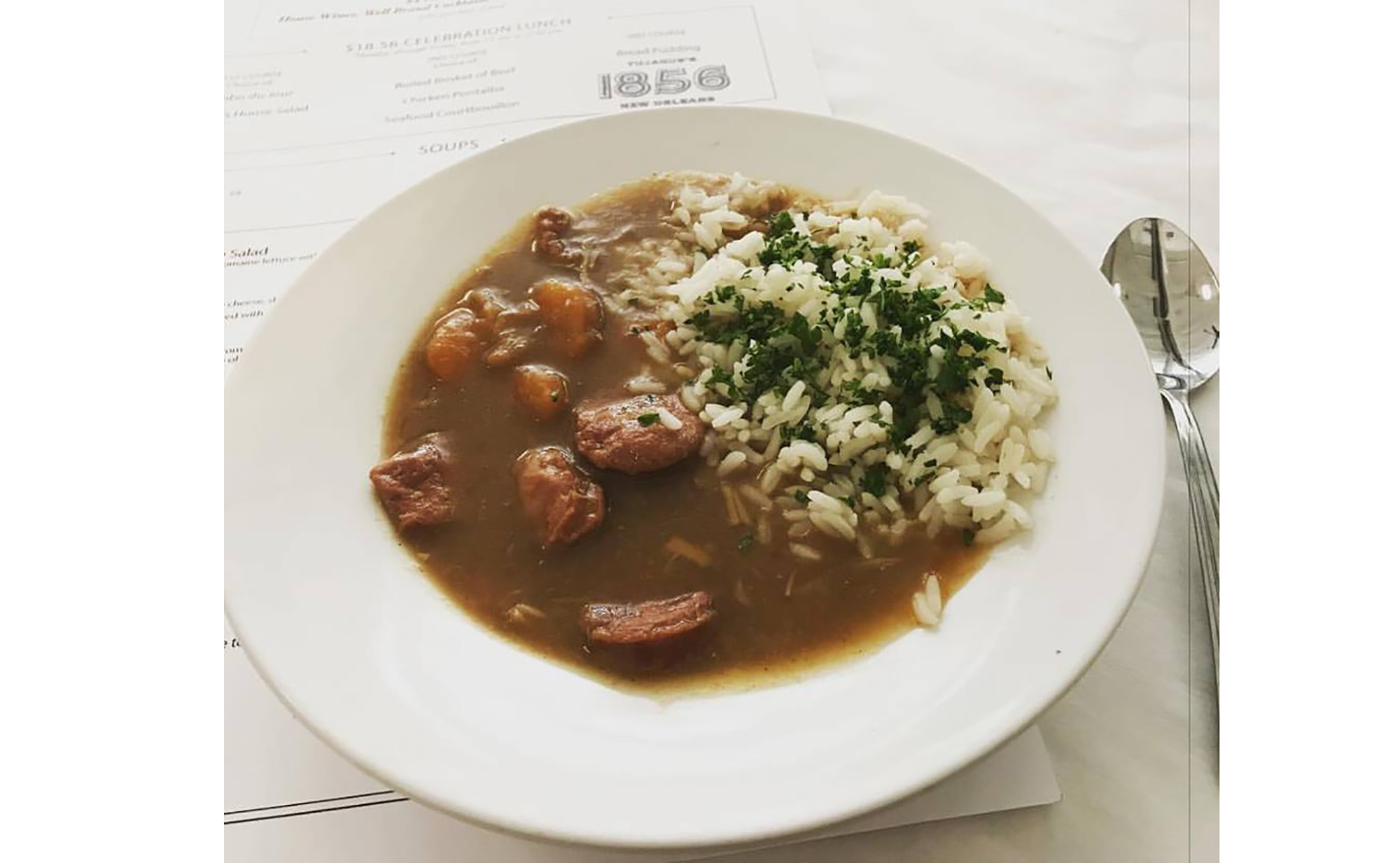 Gumbo at Tujague's