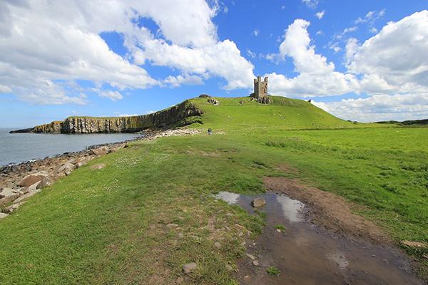Dunstaburgh Castle, Northumberland, England