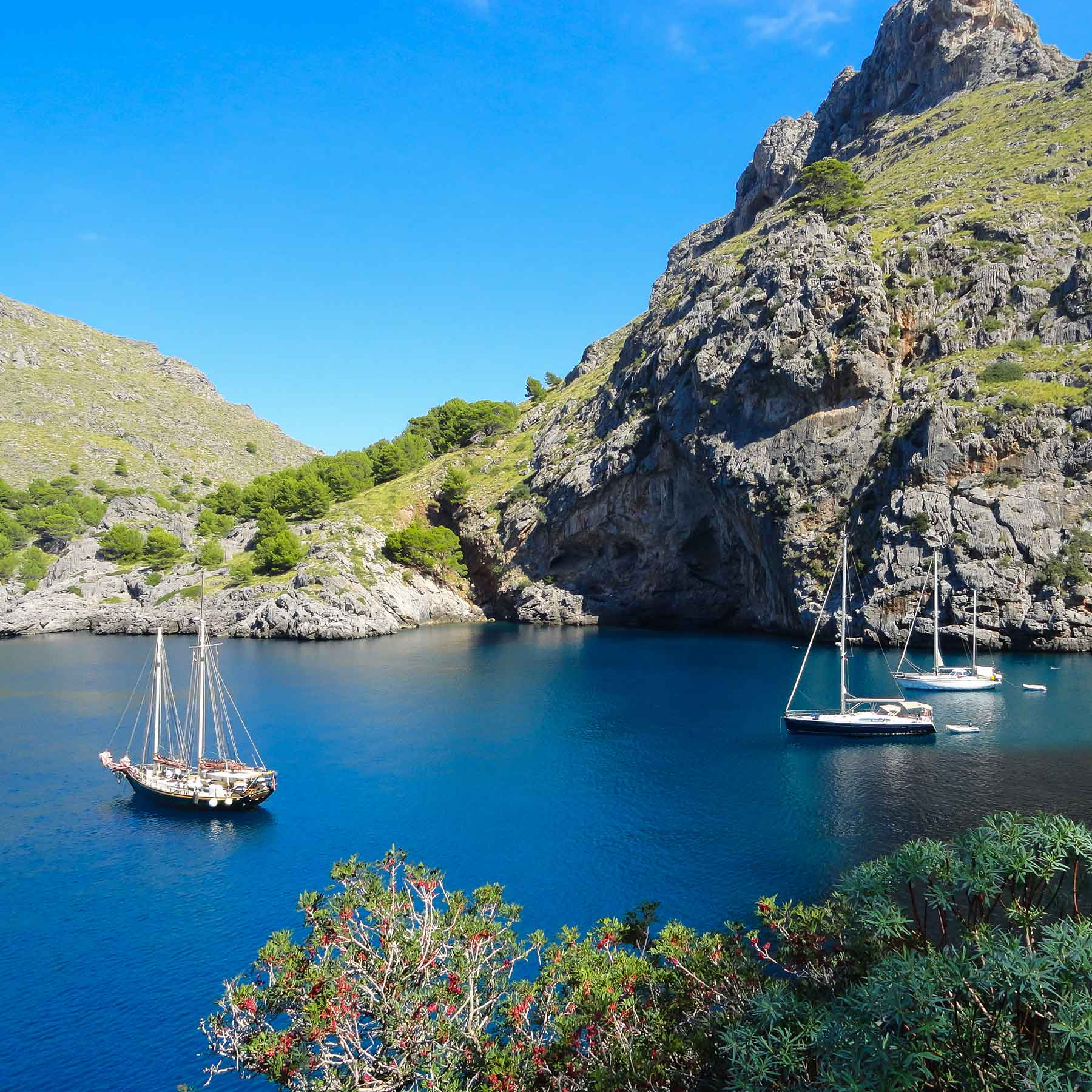 Mallorca in the Balearics makes is a fantastic option in autumn