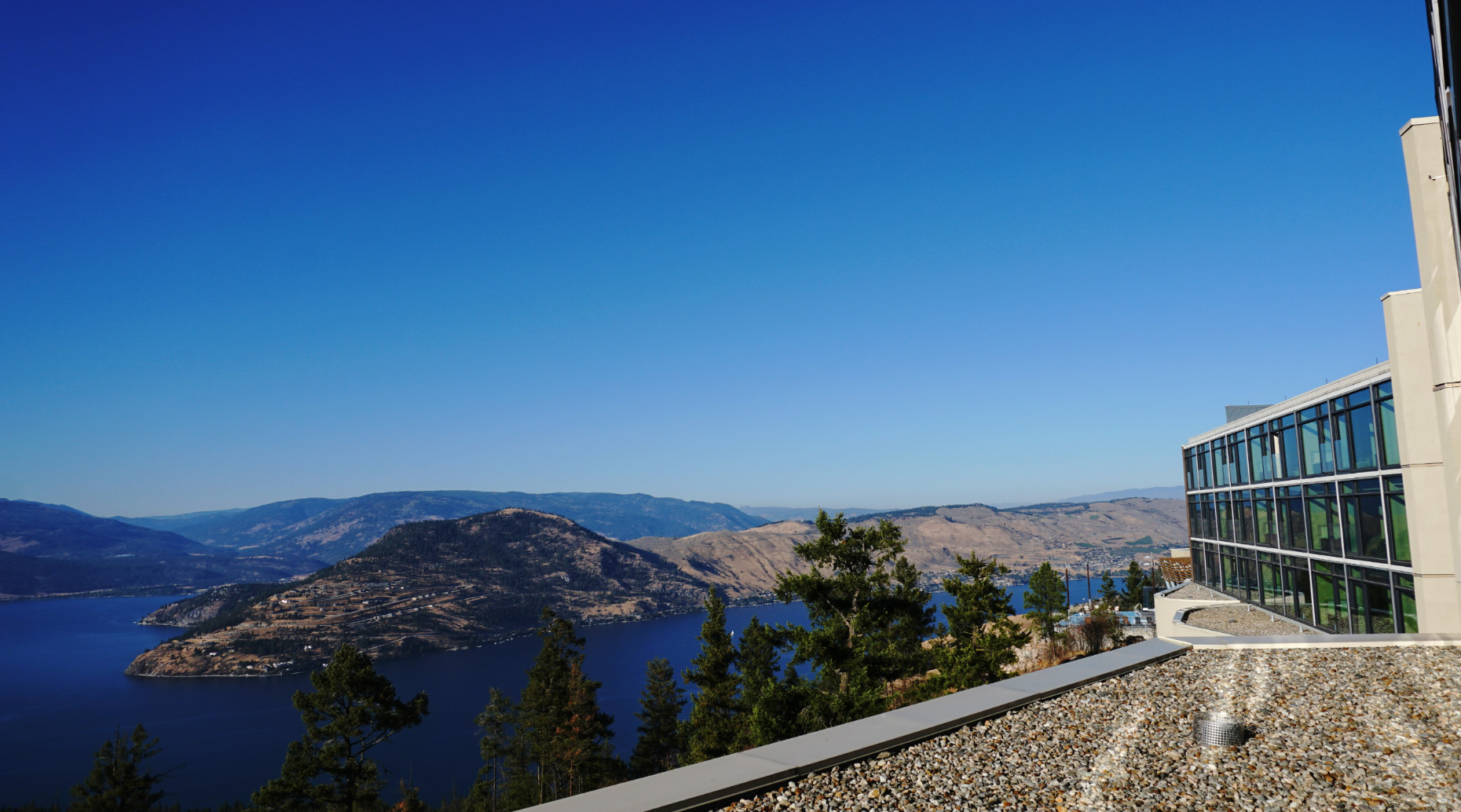 Sparkling Hill, Okanagan, Canada (Image: Lottie Gross)