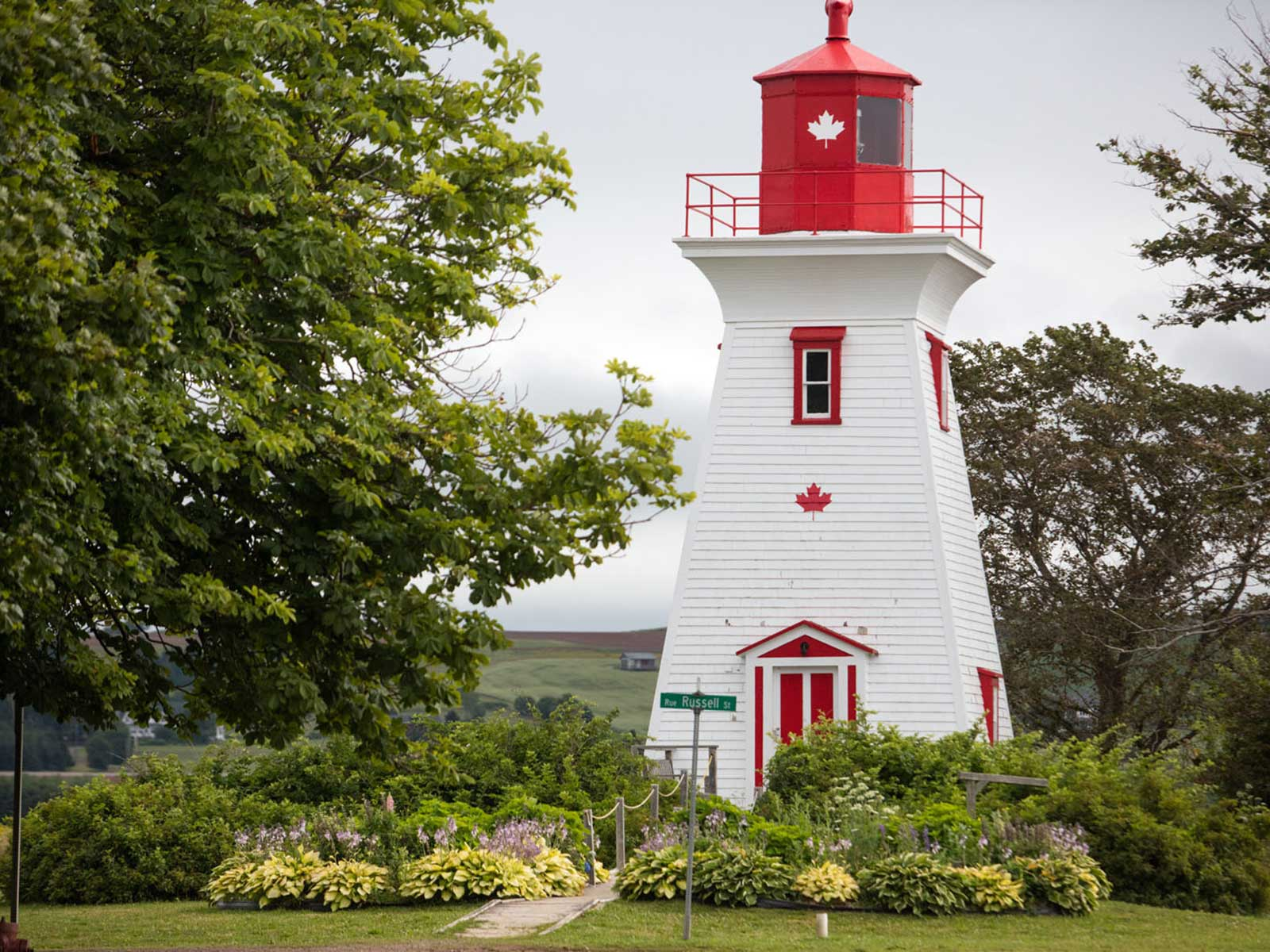 The lighthouse at Victoria-by-the-Sea, on the south-west coast of Prince Edward Island