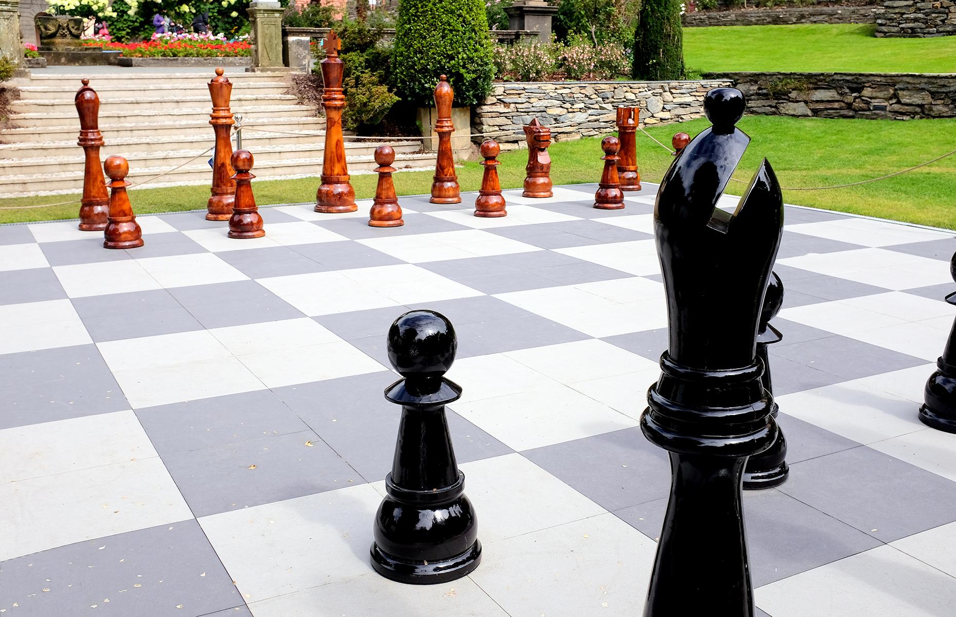 Portmeirion village chess