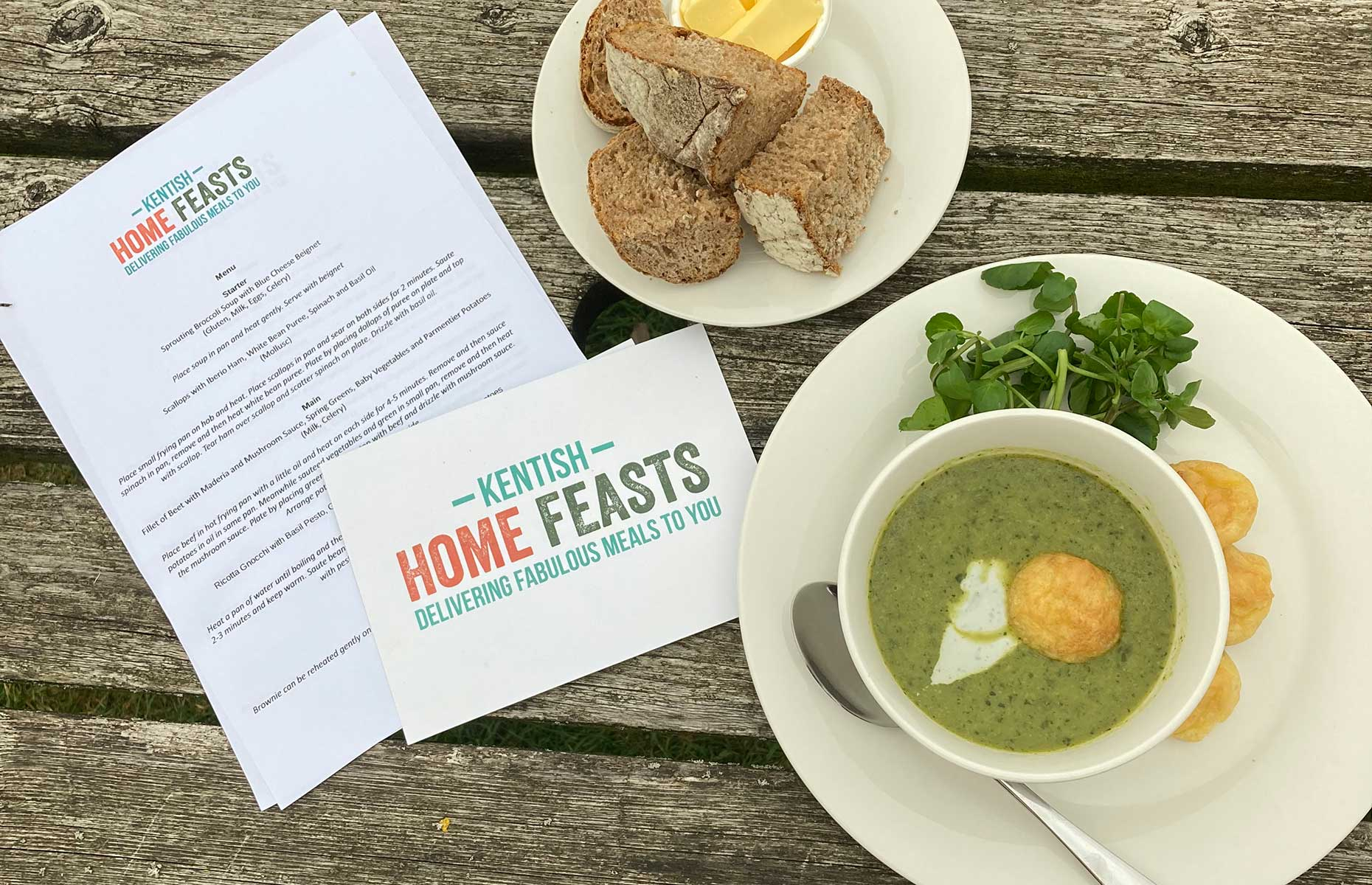 Kentish Home Feasts (Image: Jacqui Agate)