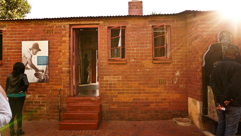Mandela's house, Soweto