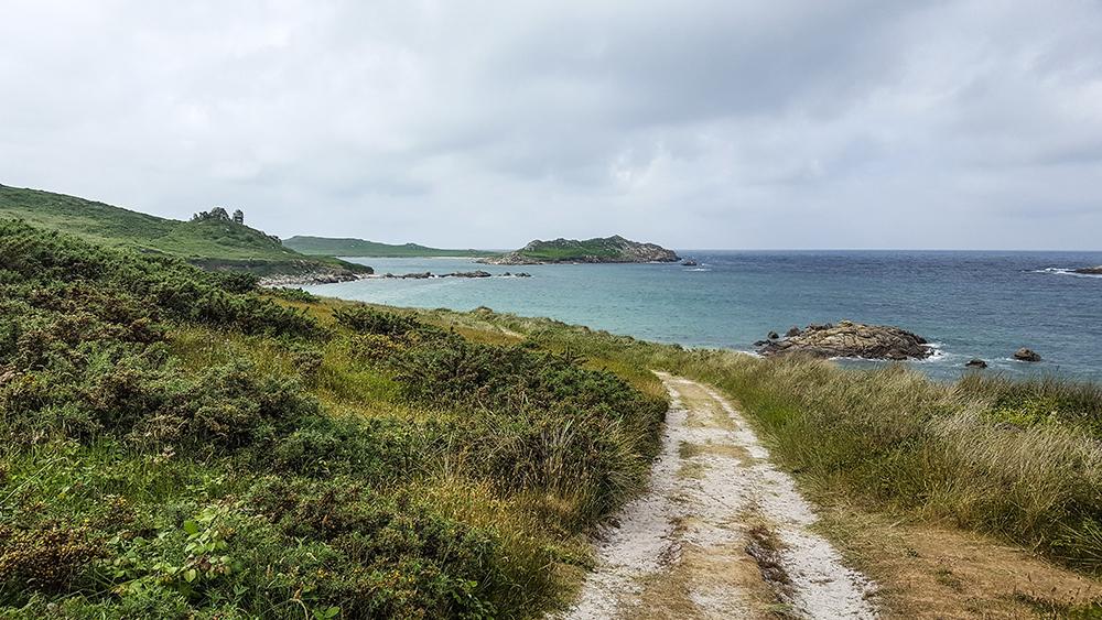 St Martin's coastline