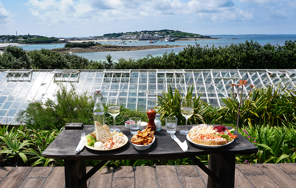 Juliet's Garden on St Mary's, Scilly Isles