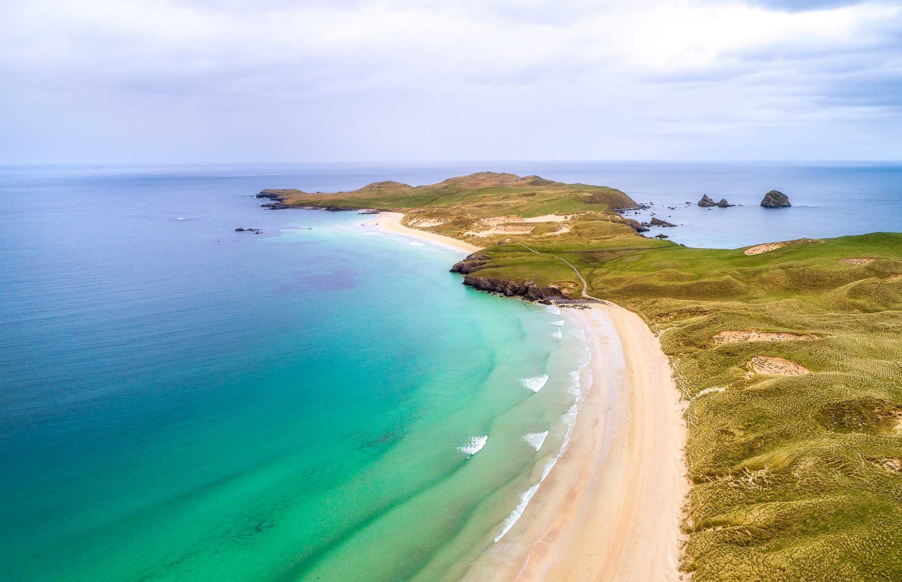 Balnakeil beach, Scotland (Image: rphstock/Shutterstock)