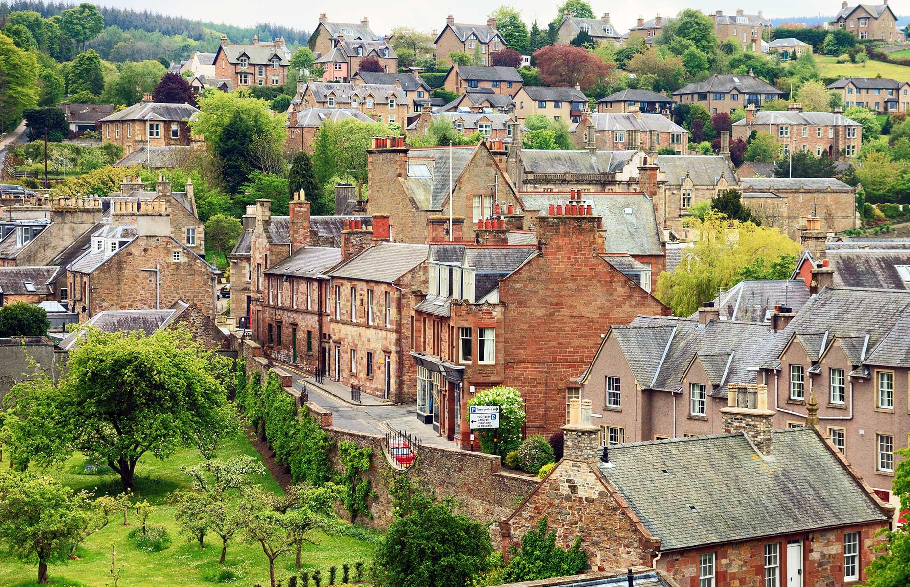 Melrose, Scotland (Image: Nella/Shutterstock)