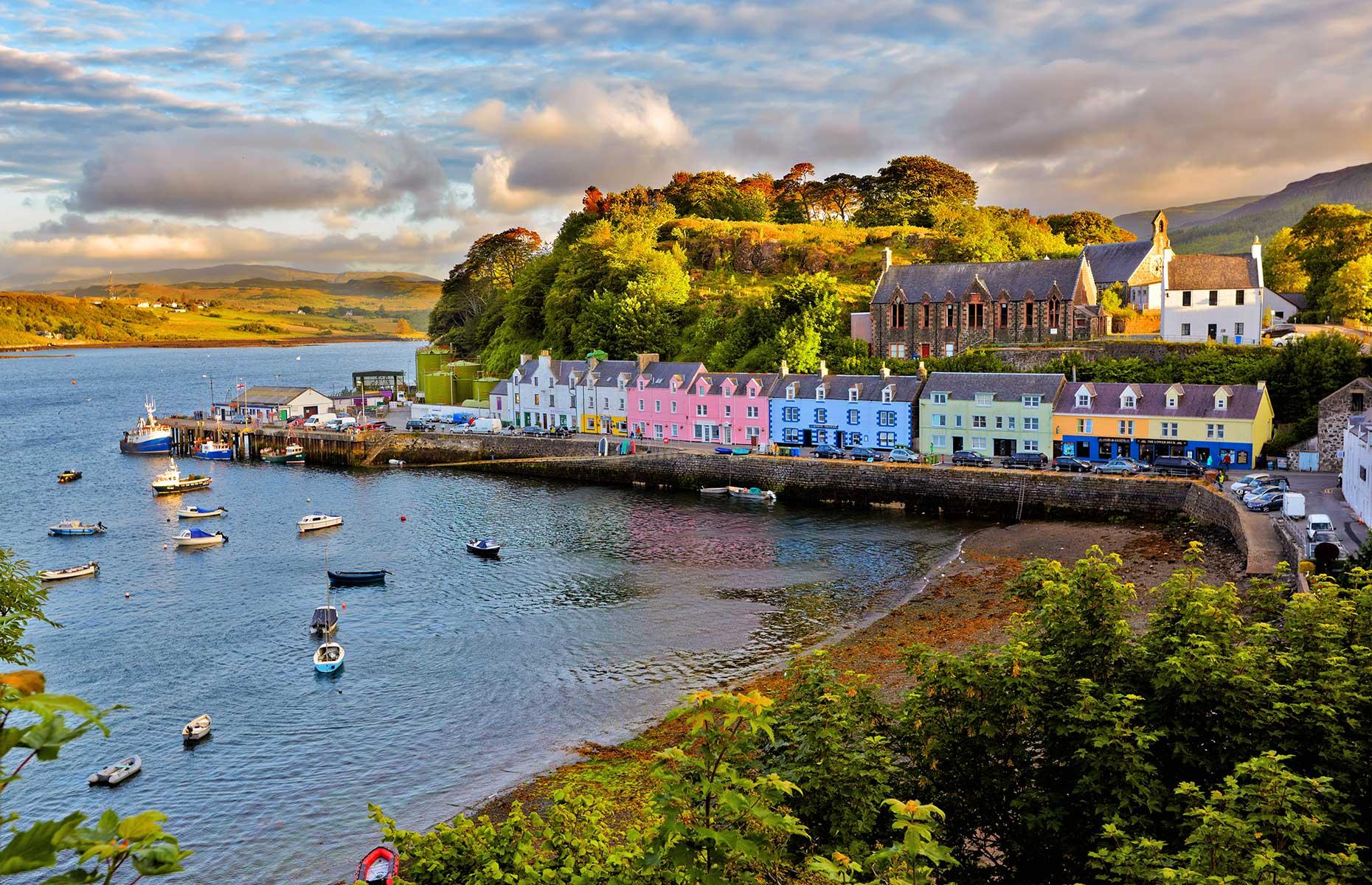 Portree, Isle of Skye, Scotland (Images: Nataliya Hora/Shutterstock)