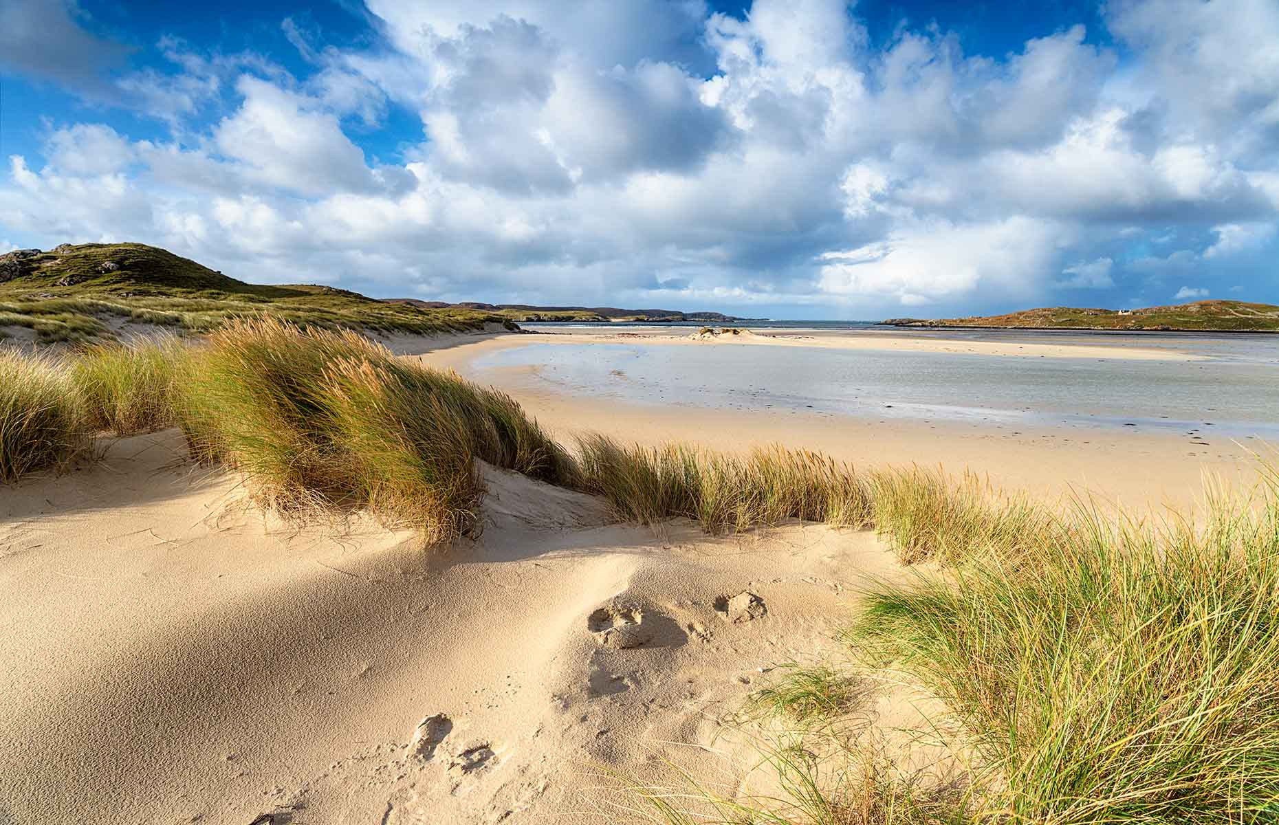 Uig Sands beach ar Ardroil on the Isle of Lewis (Image: Helen Hotson/Shutterstock)