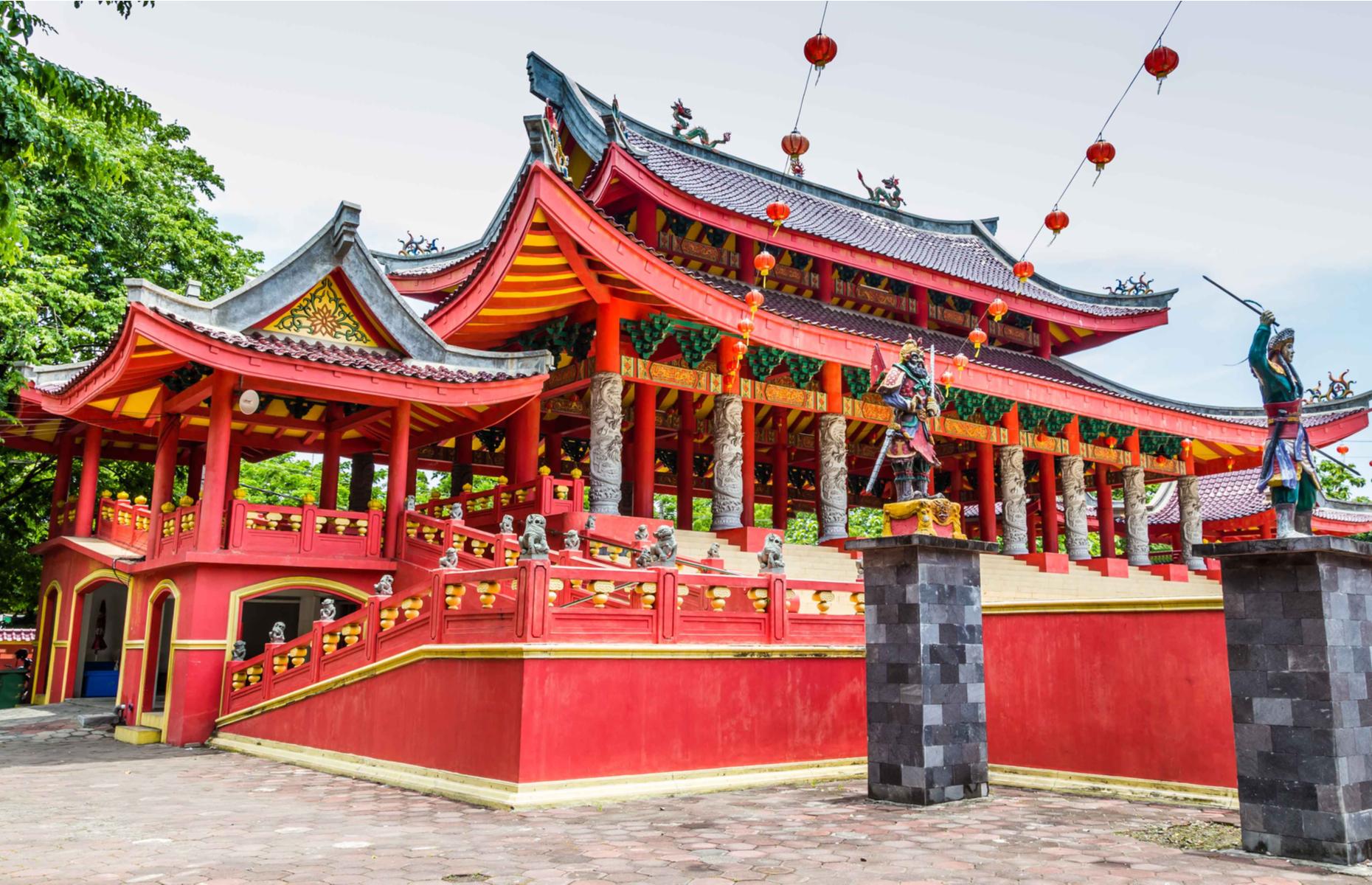 Sam Poo Kong temple, Semarang (Image: HildaWeges Photography/Shutterstock)