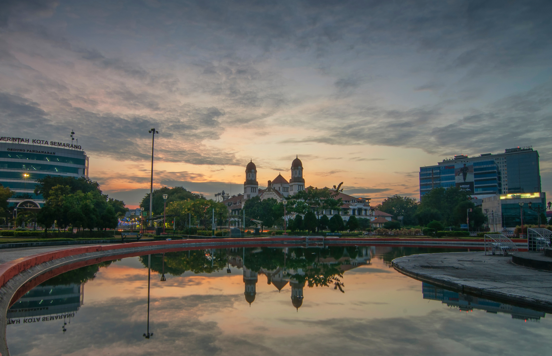 Lawang Sewu in Semarang at sunset (Image: fredyngahu/Shutterstock)