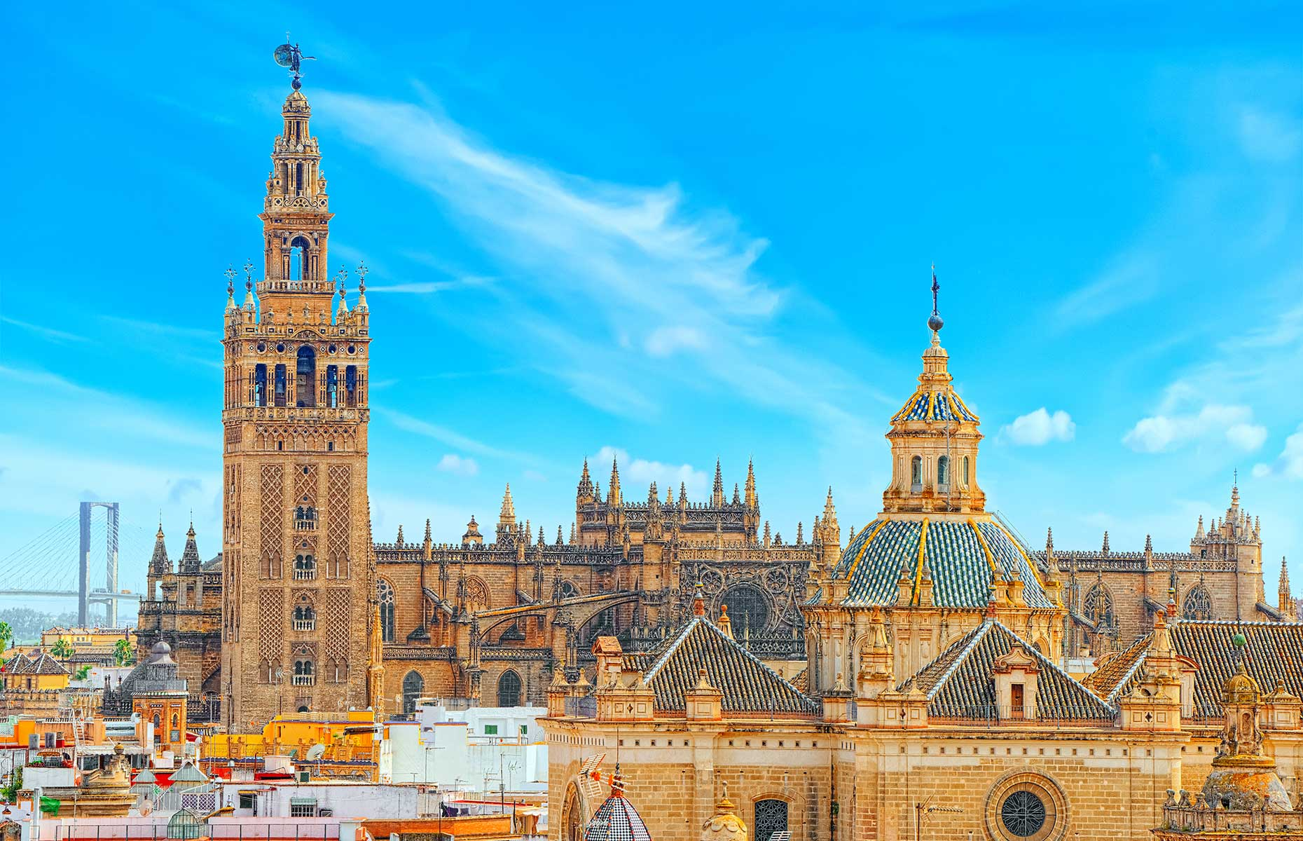 The UNESCO-listed Cathedral in Seville