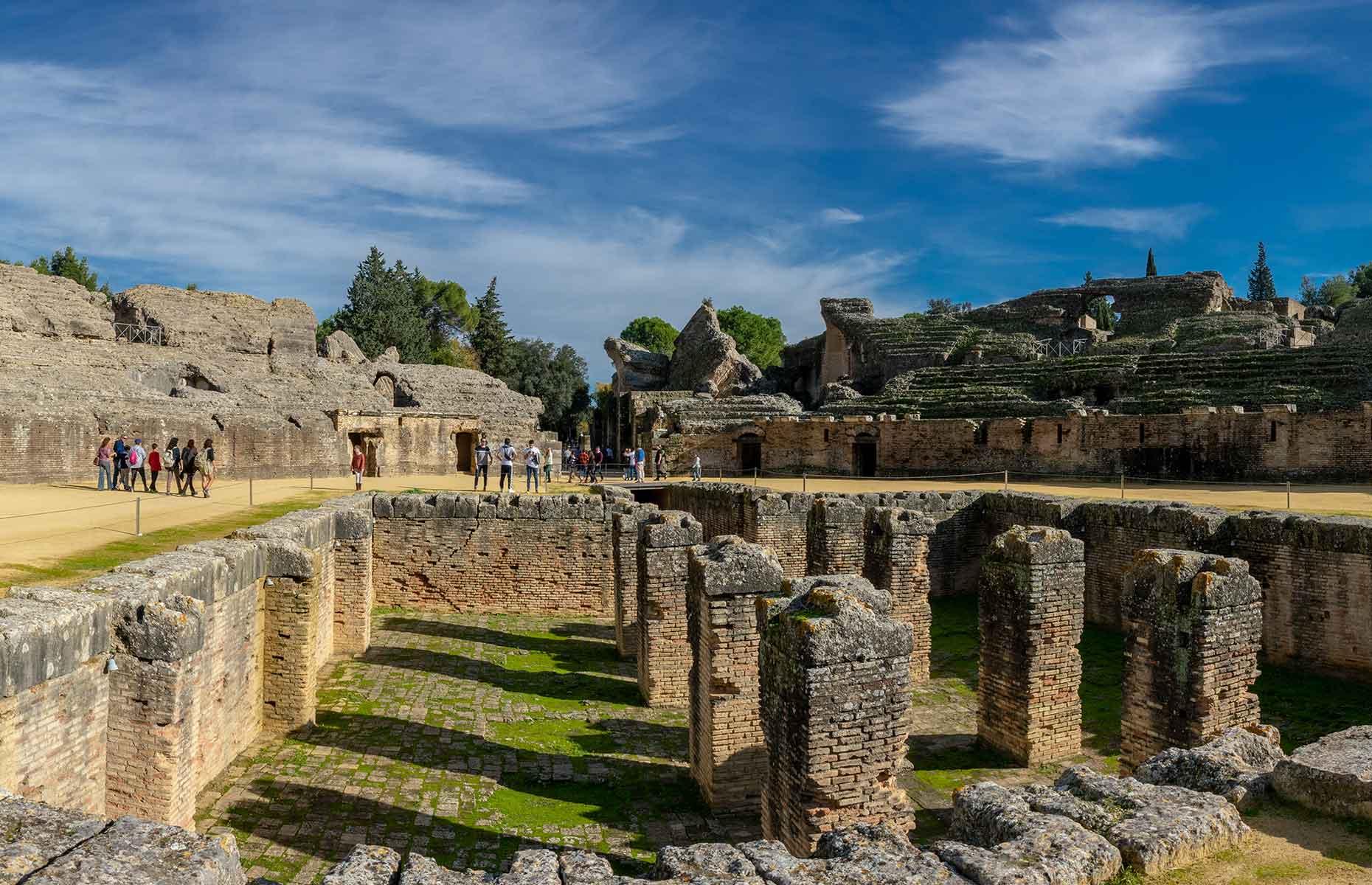 Italica Roman ruins, near Seville